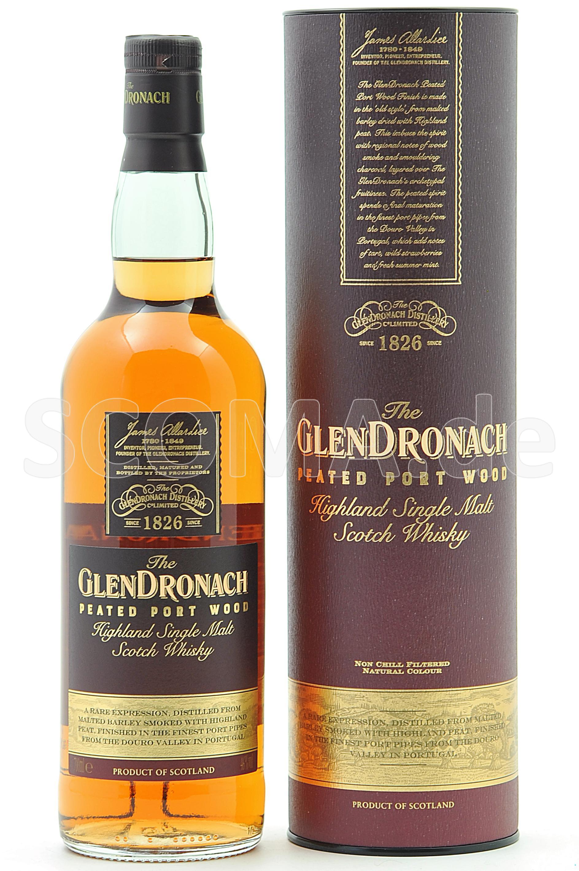 GlenDronach Peated Port Cask