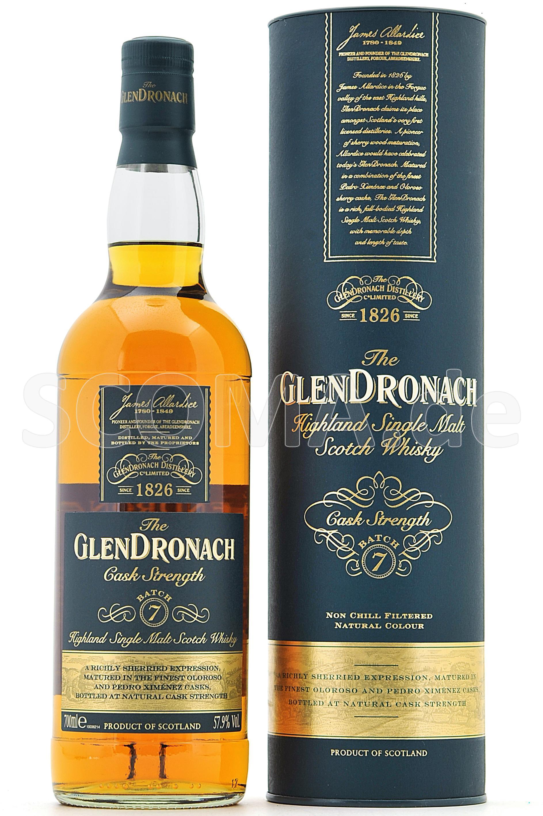 GlenDronach Cask Strength