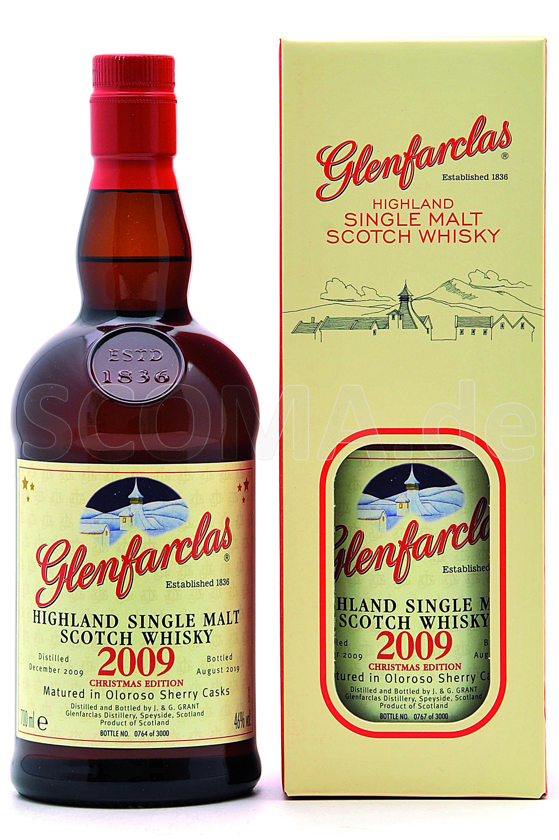 Glenfarclas 2009/2019 Christma...