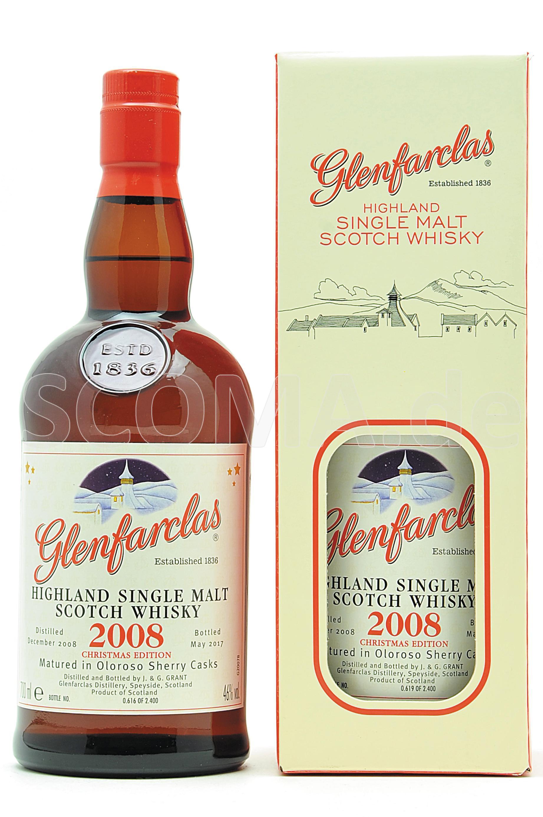 Glenfarclas 2008 Christmas Mal...