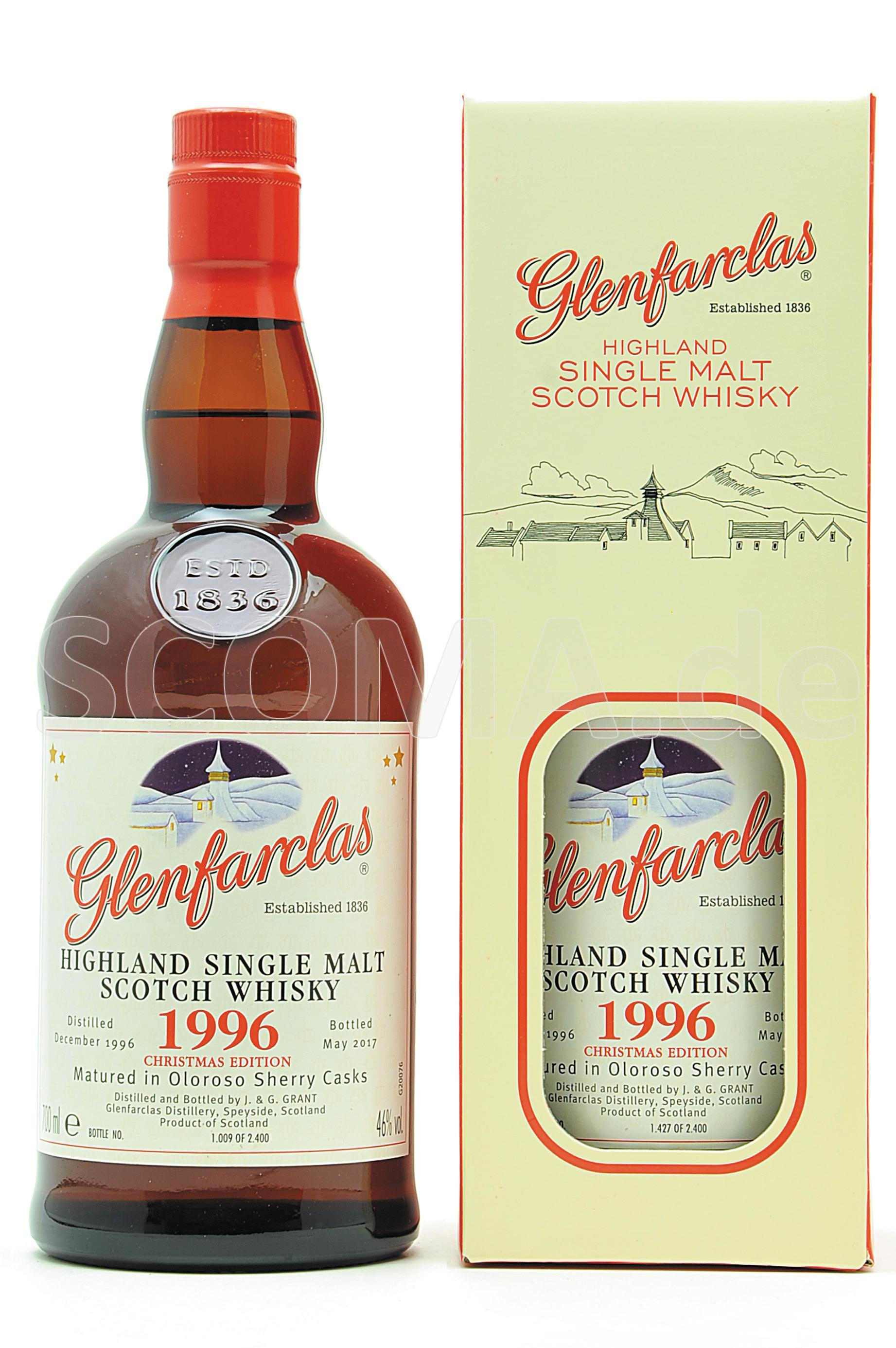 Glenfarclas 1996 Christmas Mal...