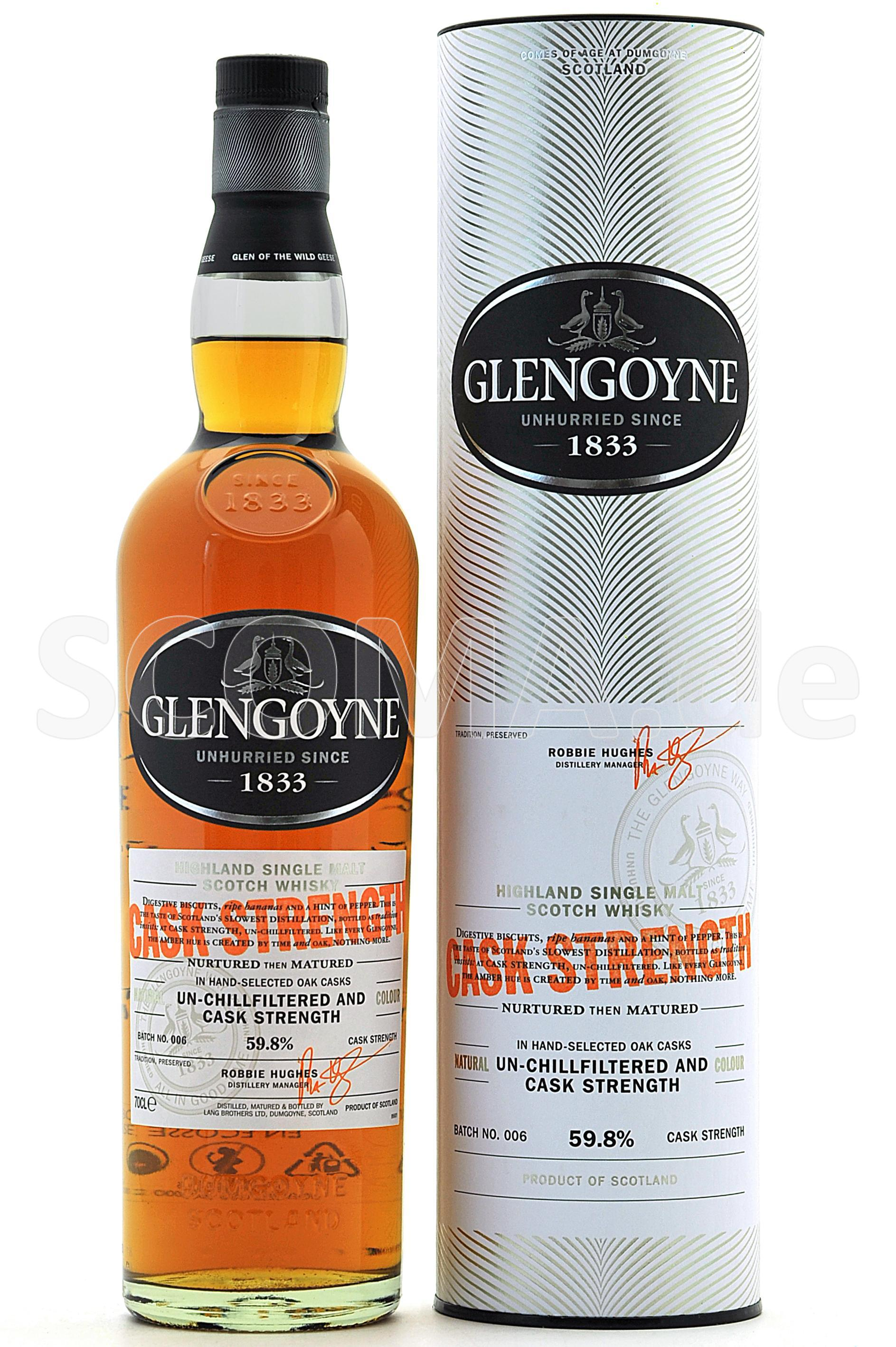 Glengoyne Cask strength B0006