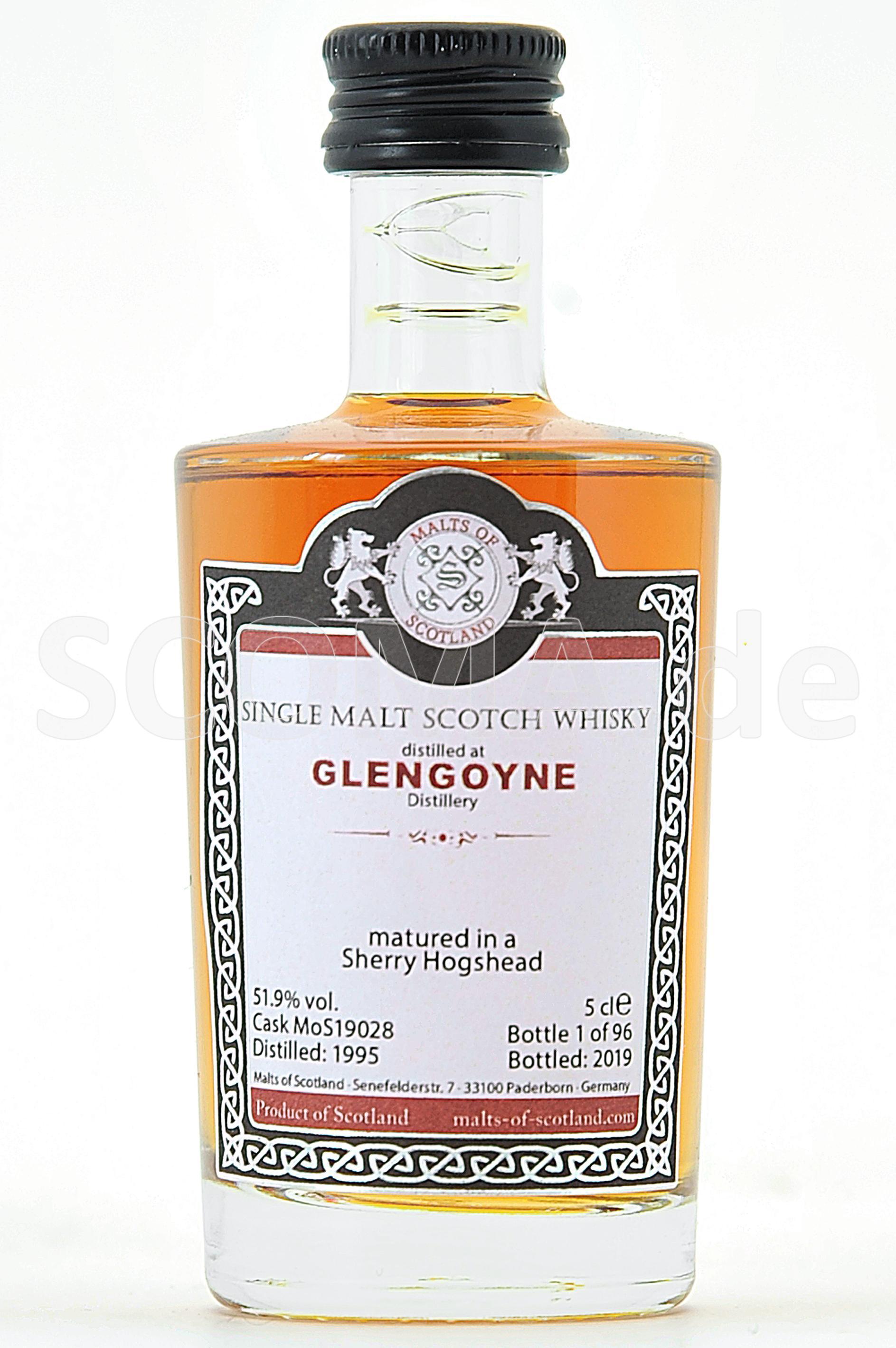 Glengoyne 1999/2019 Sherry Cas...