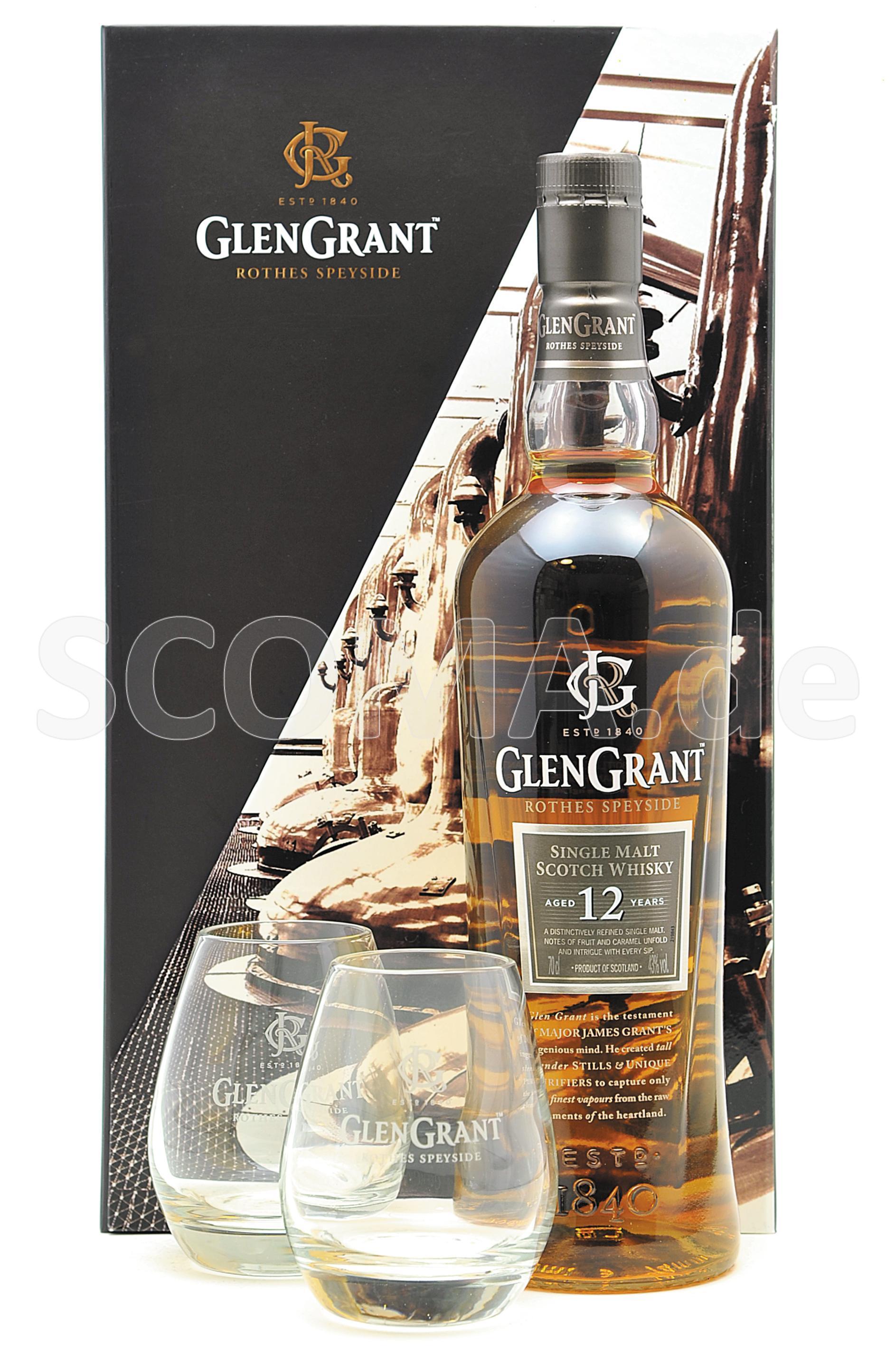 Glen Grant 12 Jahre - Geschenk...