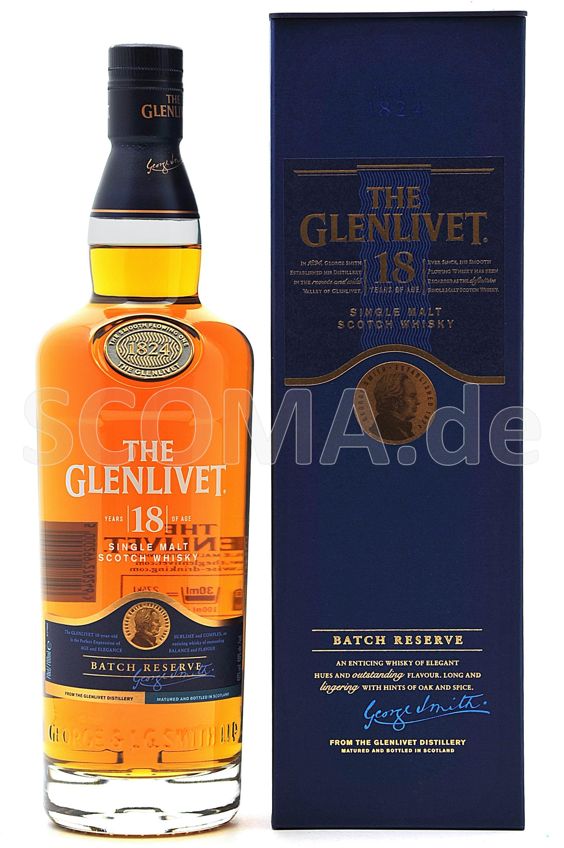 Glenlivet 18 Jahre Batch Reser...