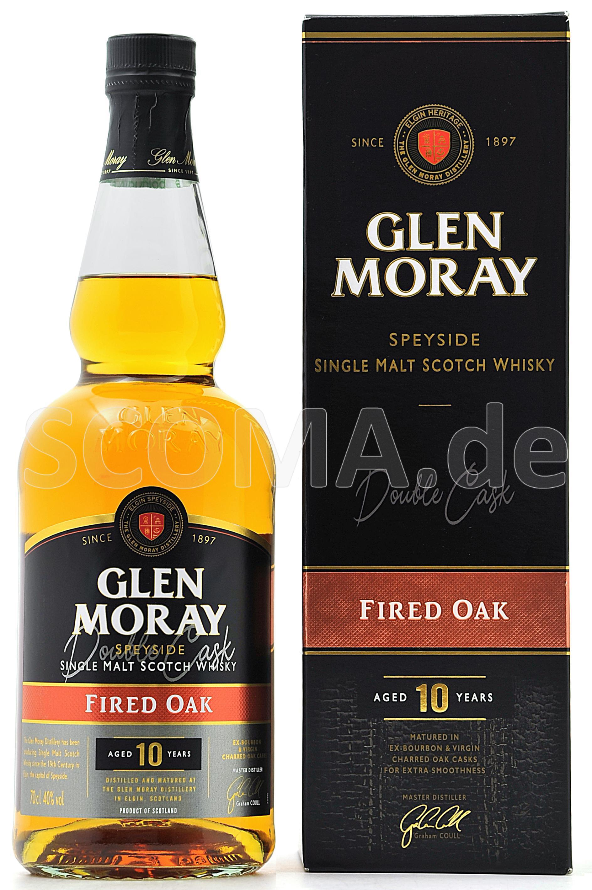 Glen Moray 10 Jahre Fired Oak