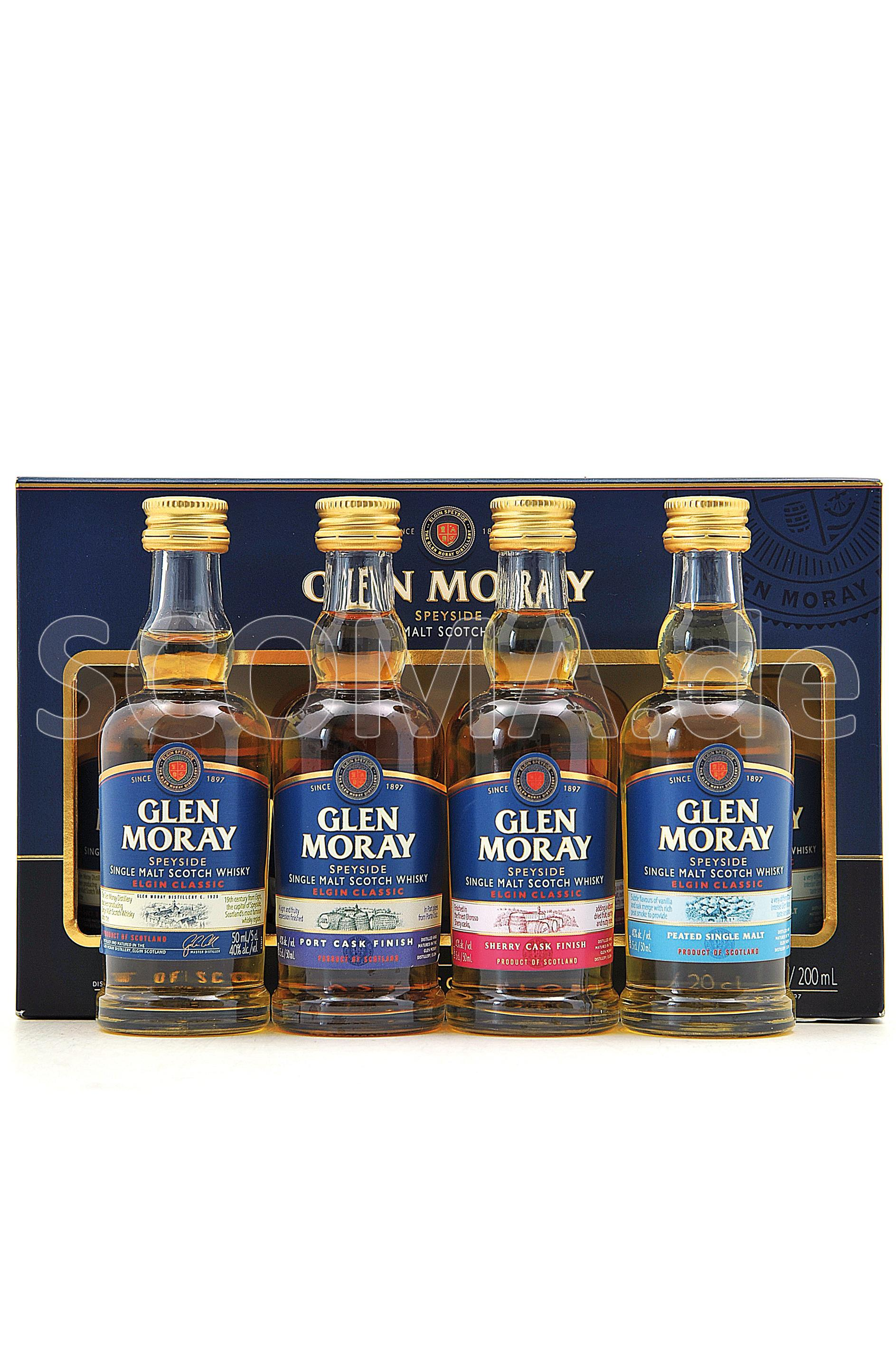 Glen Moray Miniaturen Set