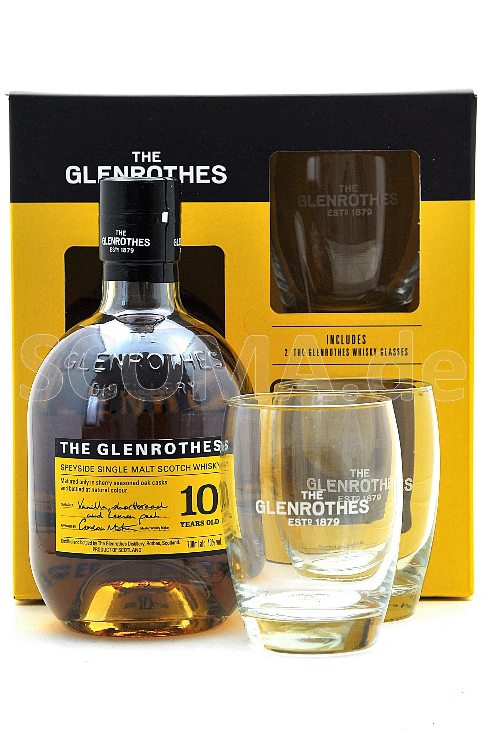 Glenrothes 10 Jahre mit 2 Tumb...