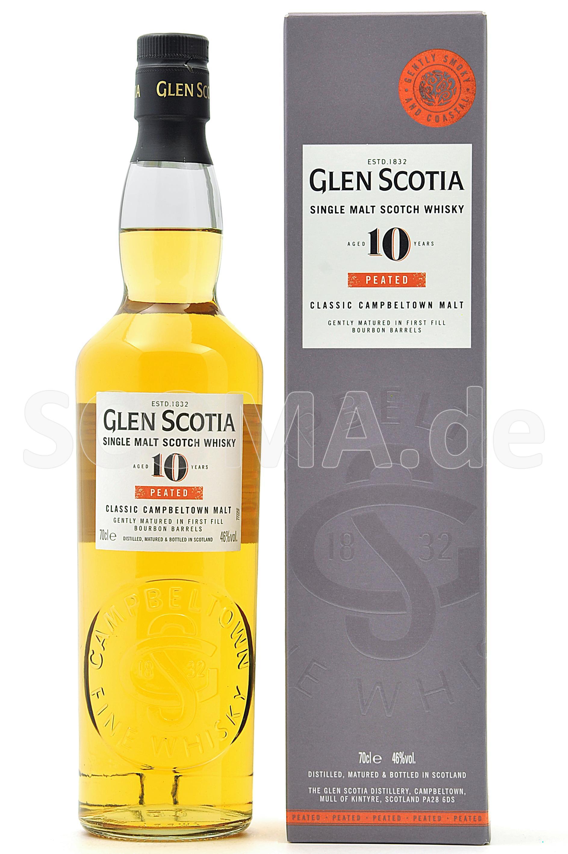 Glen Scotia 10 Jahre peated