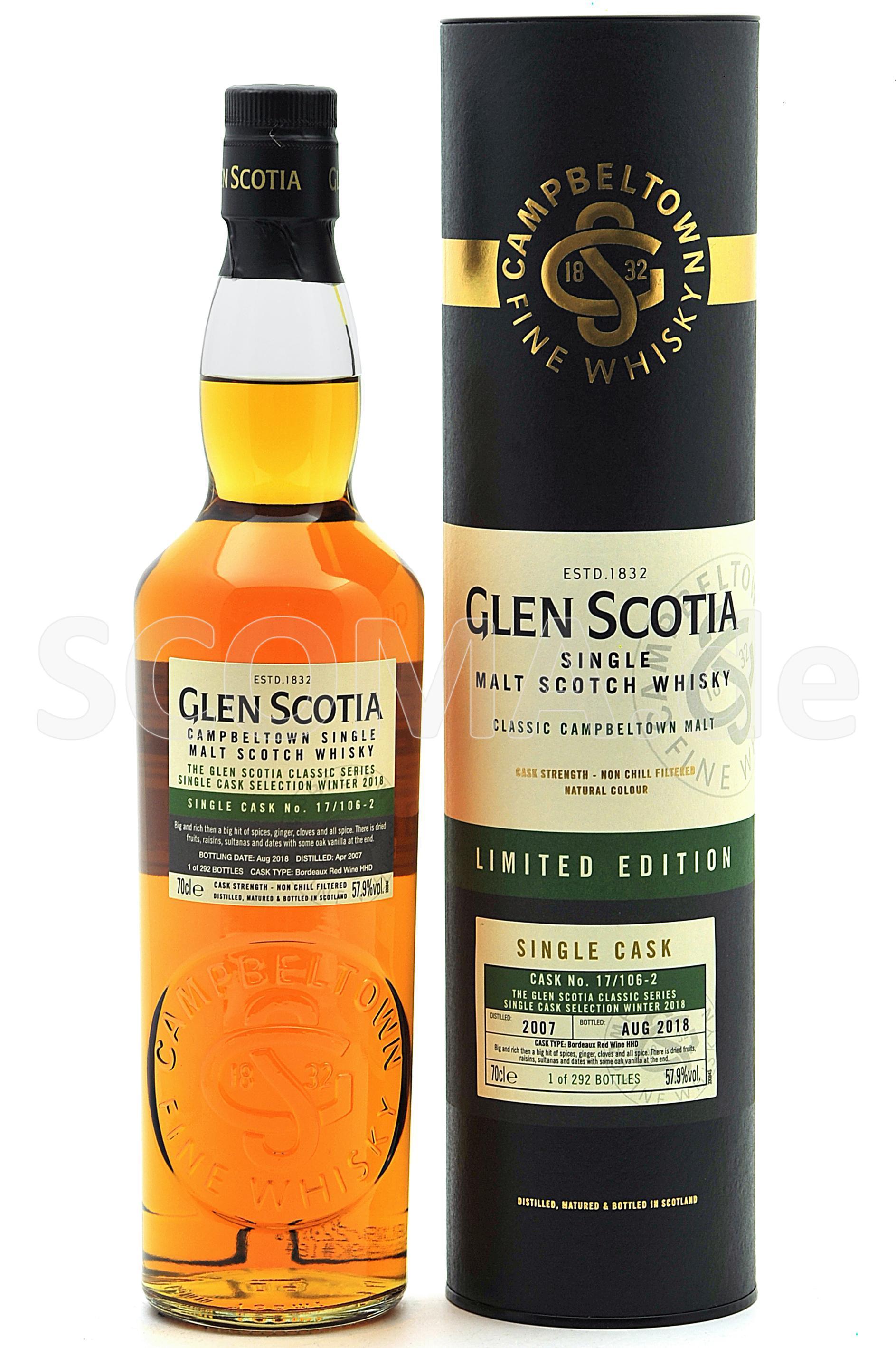 Glen Scotia 2007/2018 Single C...