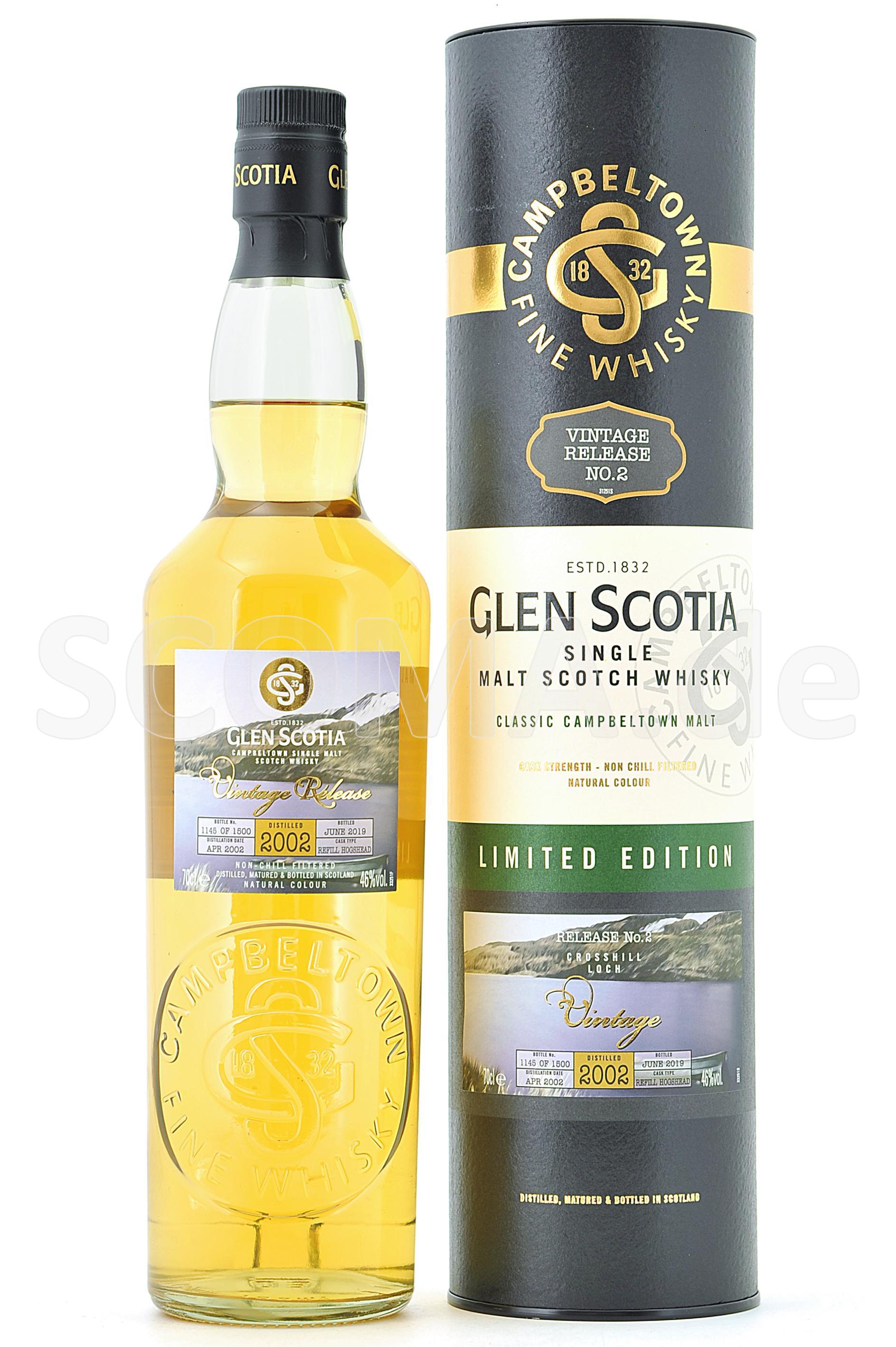 Glen Scotia 2002/2019 Vintage ...