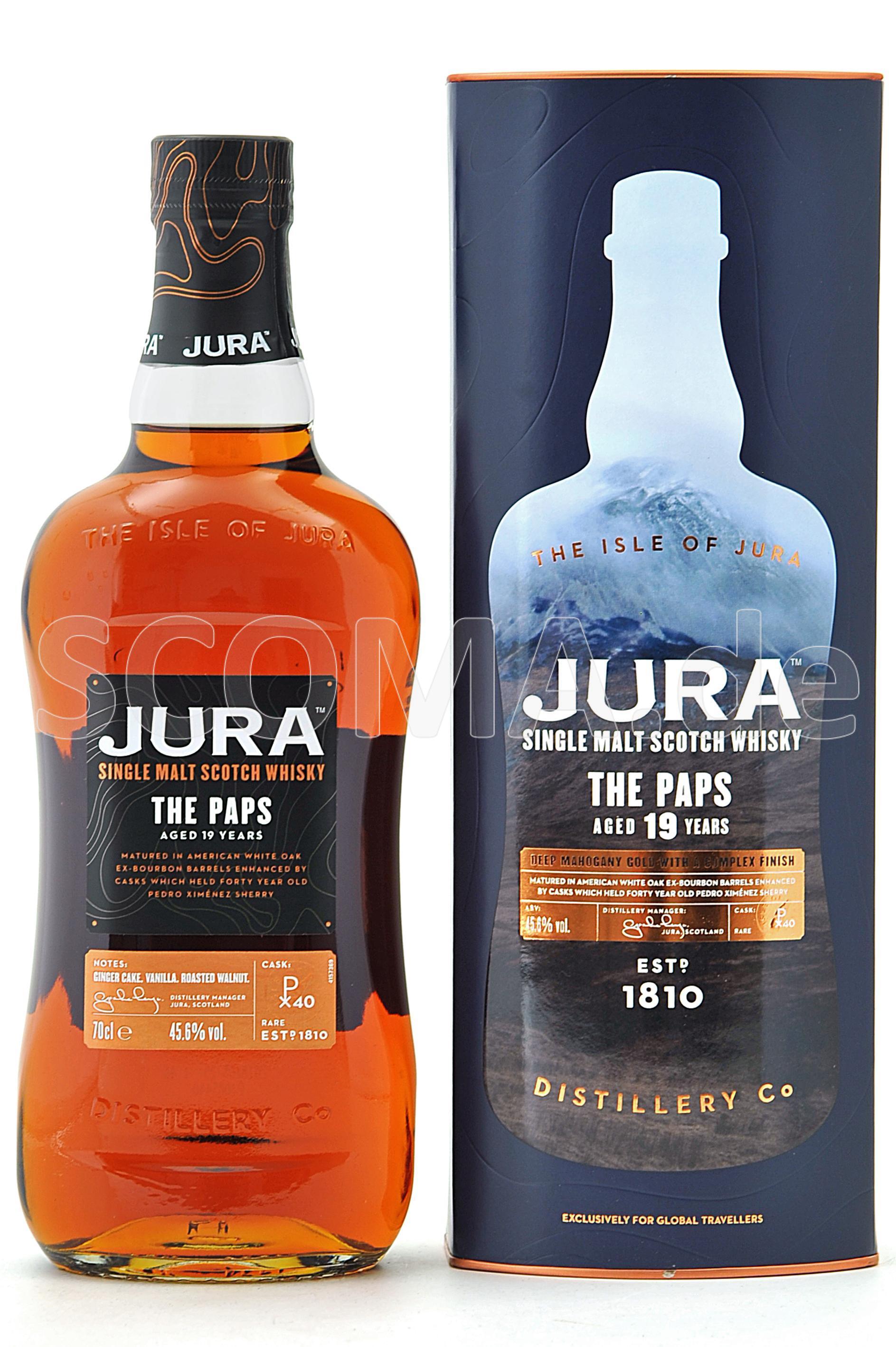 Jura The Paps 19 Jahre