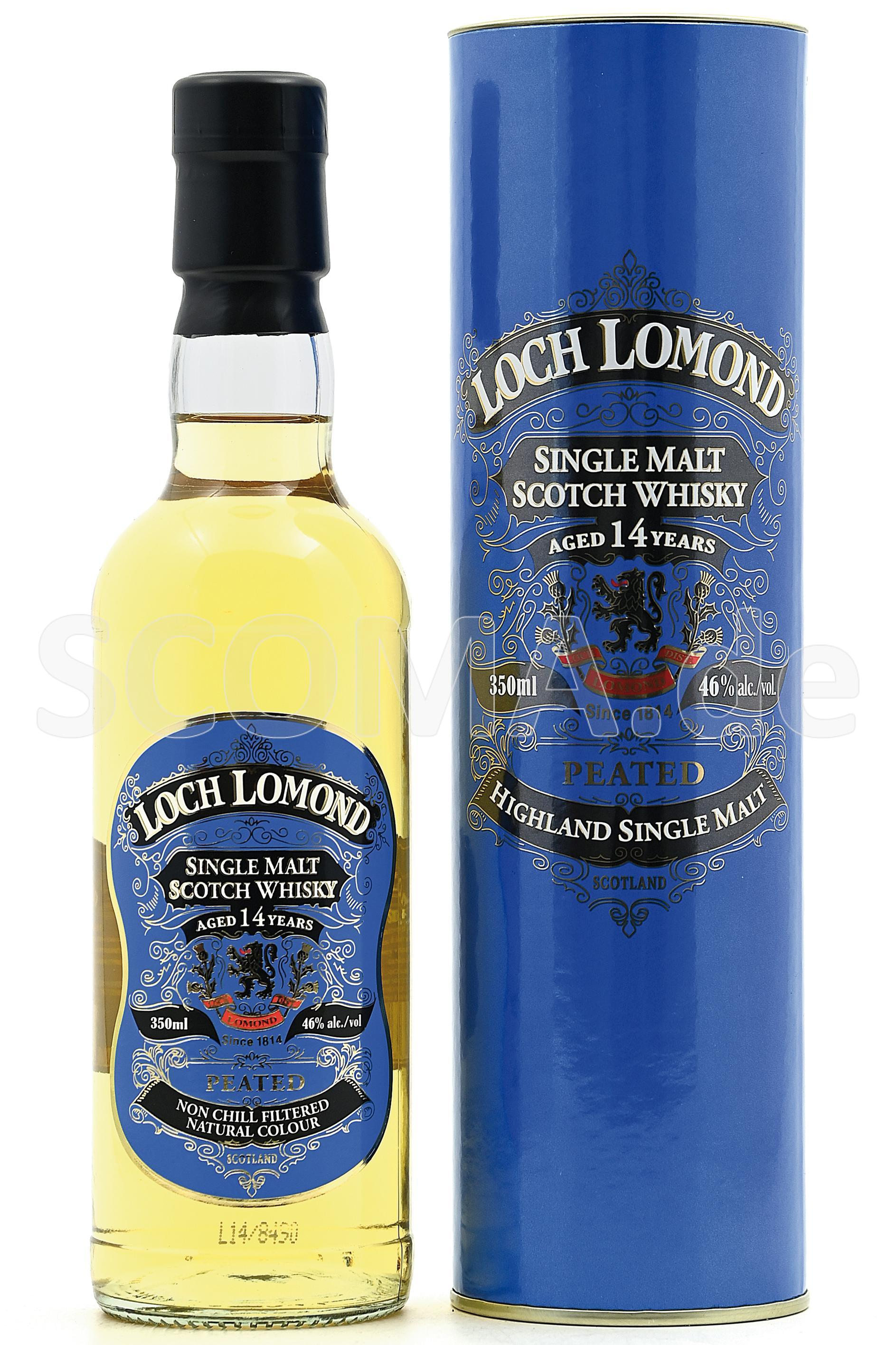 Loch Lomond 14 years Peated