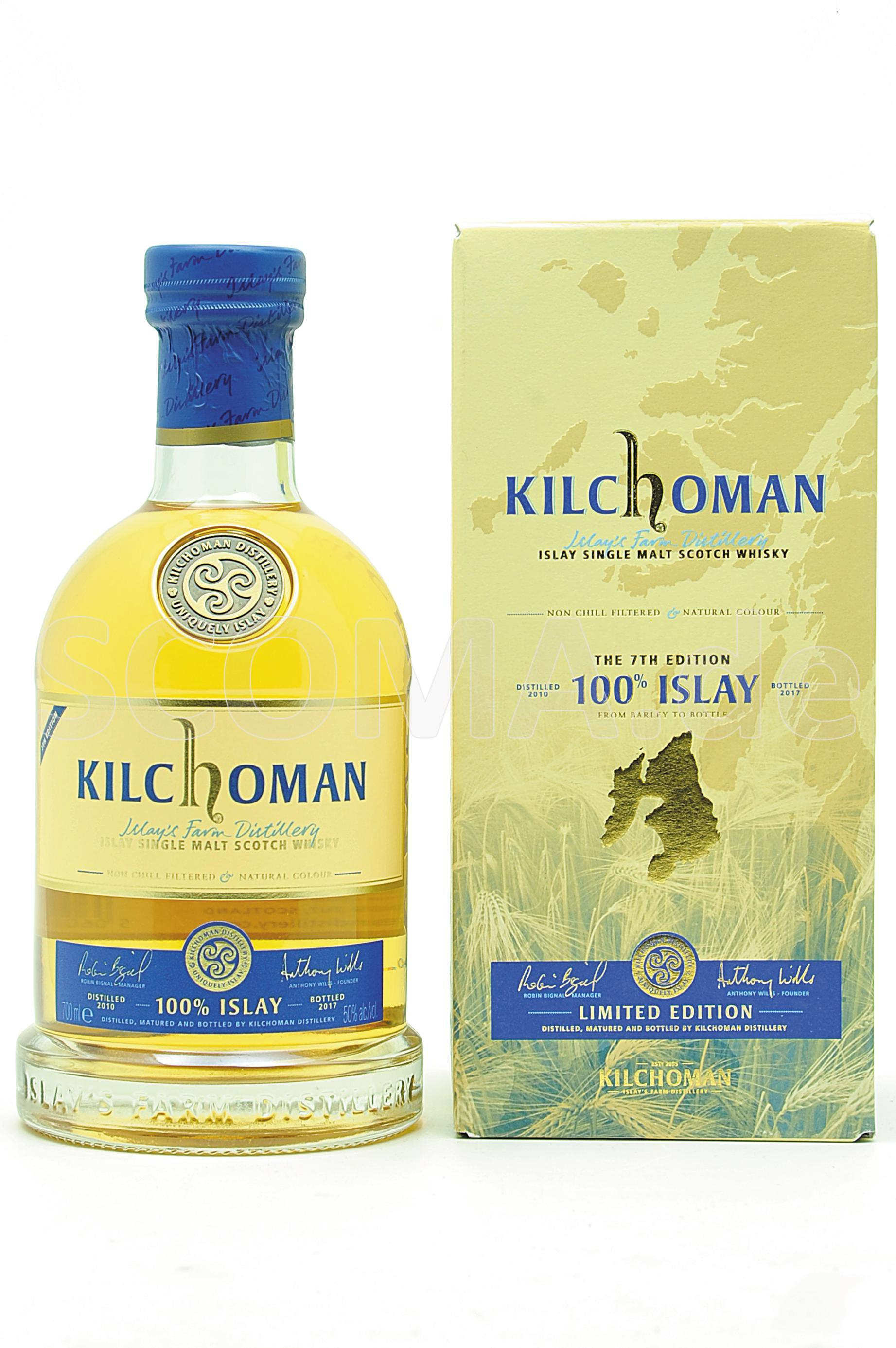 Kilchoman 100% Islay - 7th Rel...