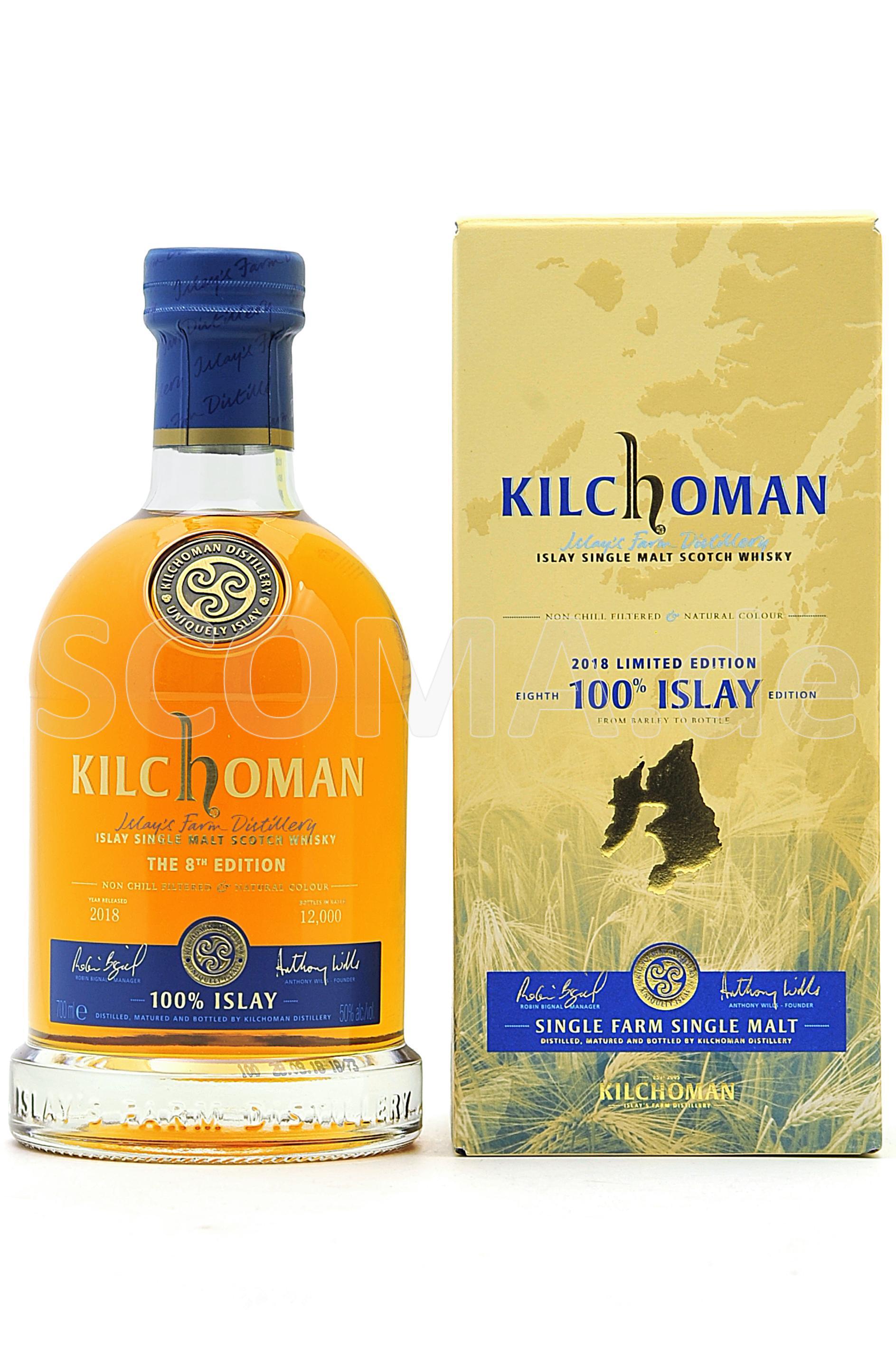 Kilchoman 100% Islay 8th Editi...