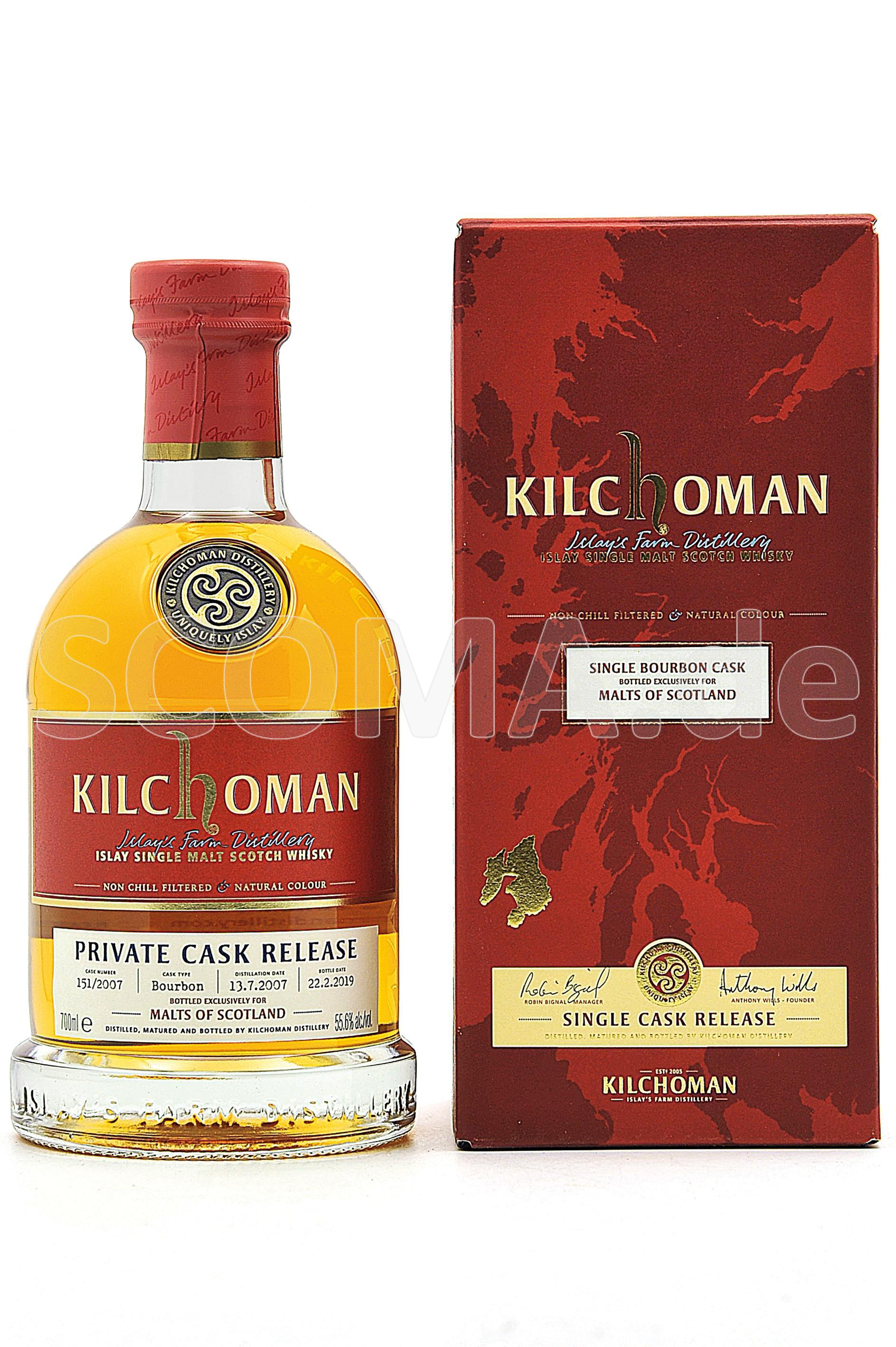 Kilchoman 2007/2019 Bourbon Ca...