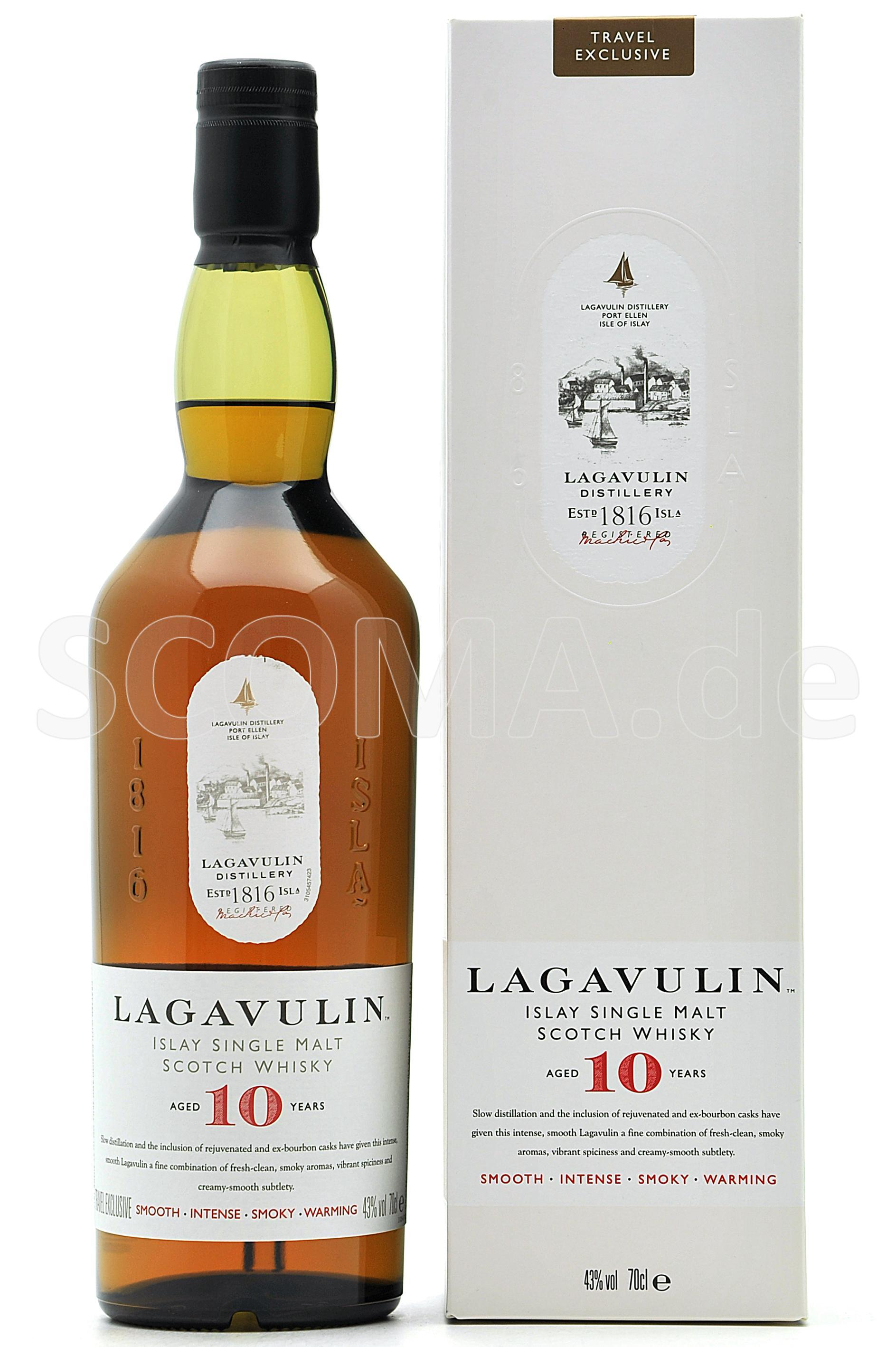 Lagavulin 10 Jahre Travel Excl...