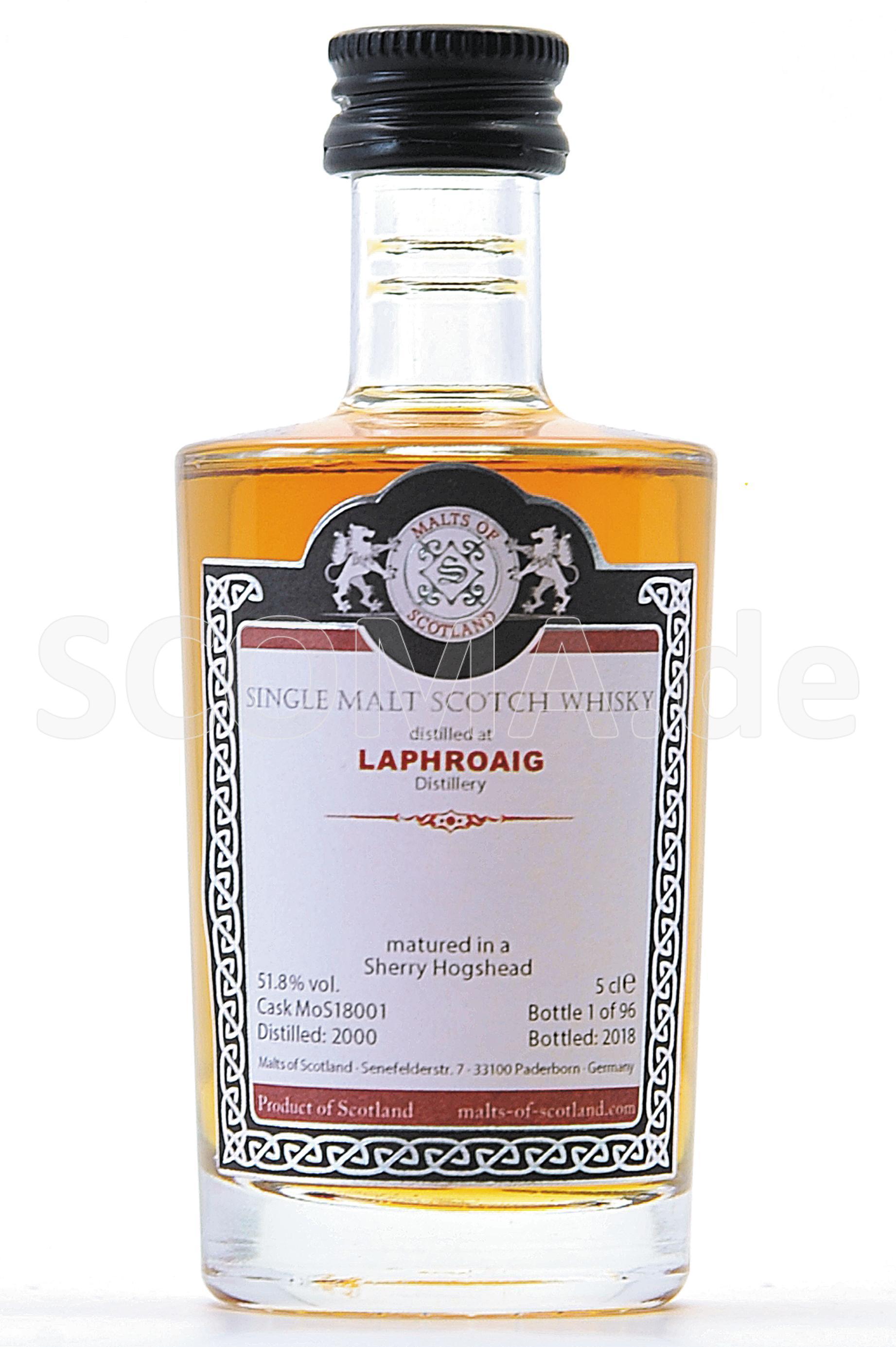 Laphroaig 2000/2018 Sherry Cas...