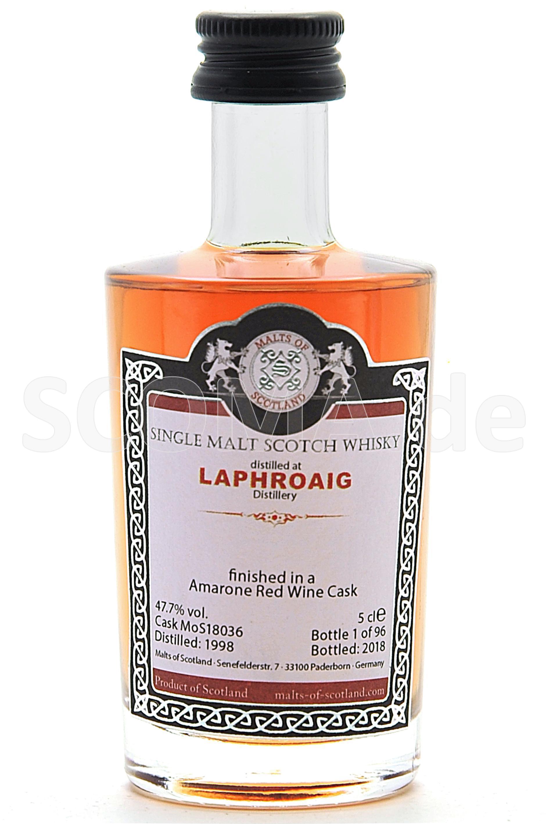 Laphroaig 1998/2018 Amarone Re...