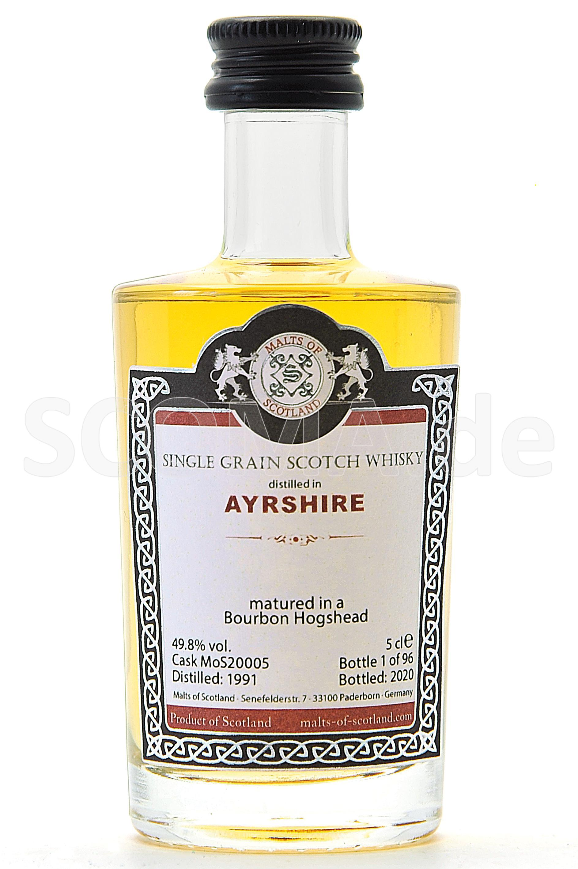 Ayrshire 1991/2020 Bourbon Cas...
