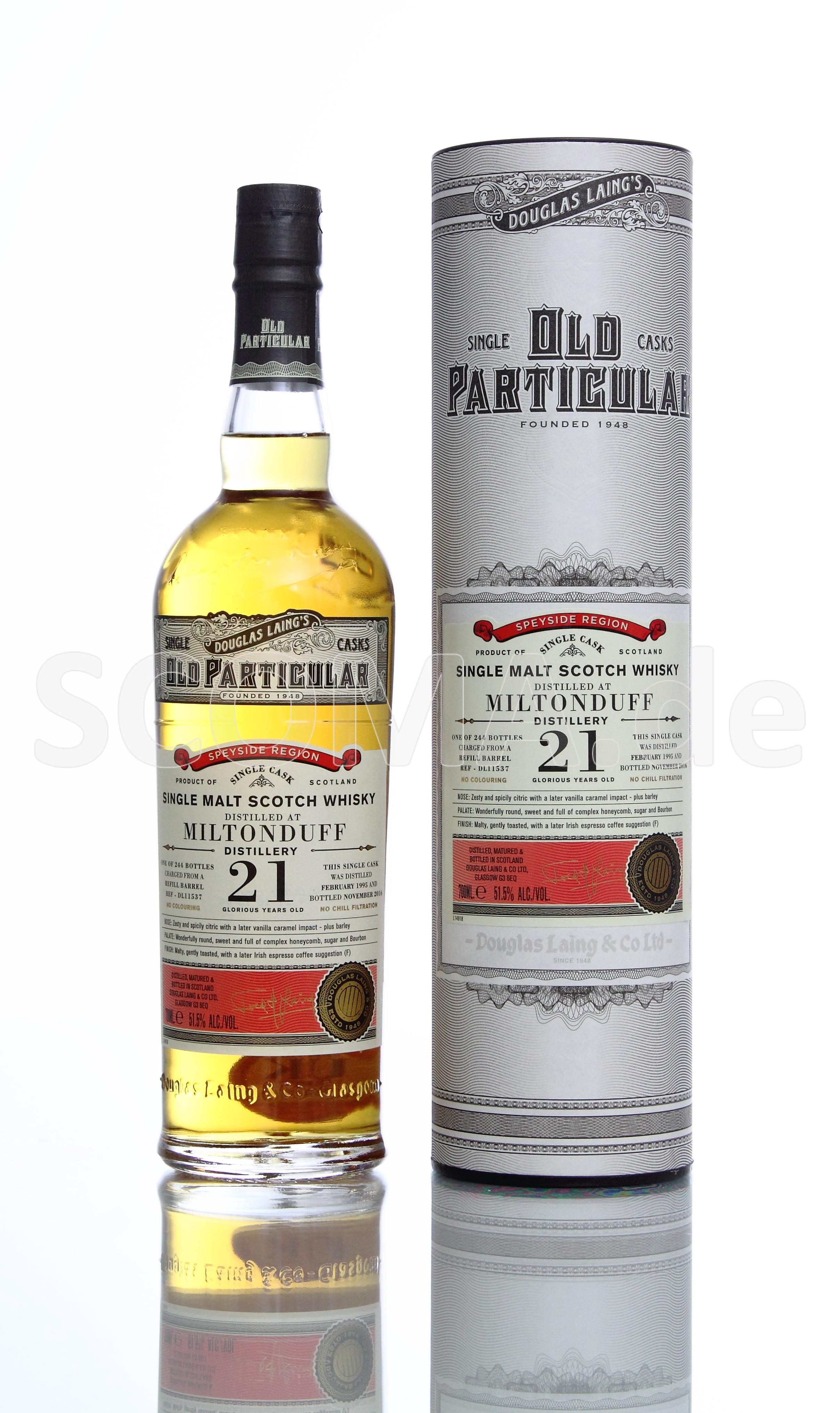 Miltonduff Old Particular 21 J...