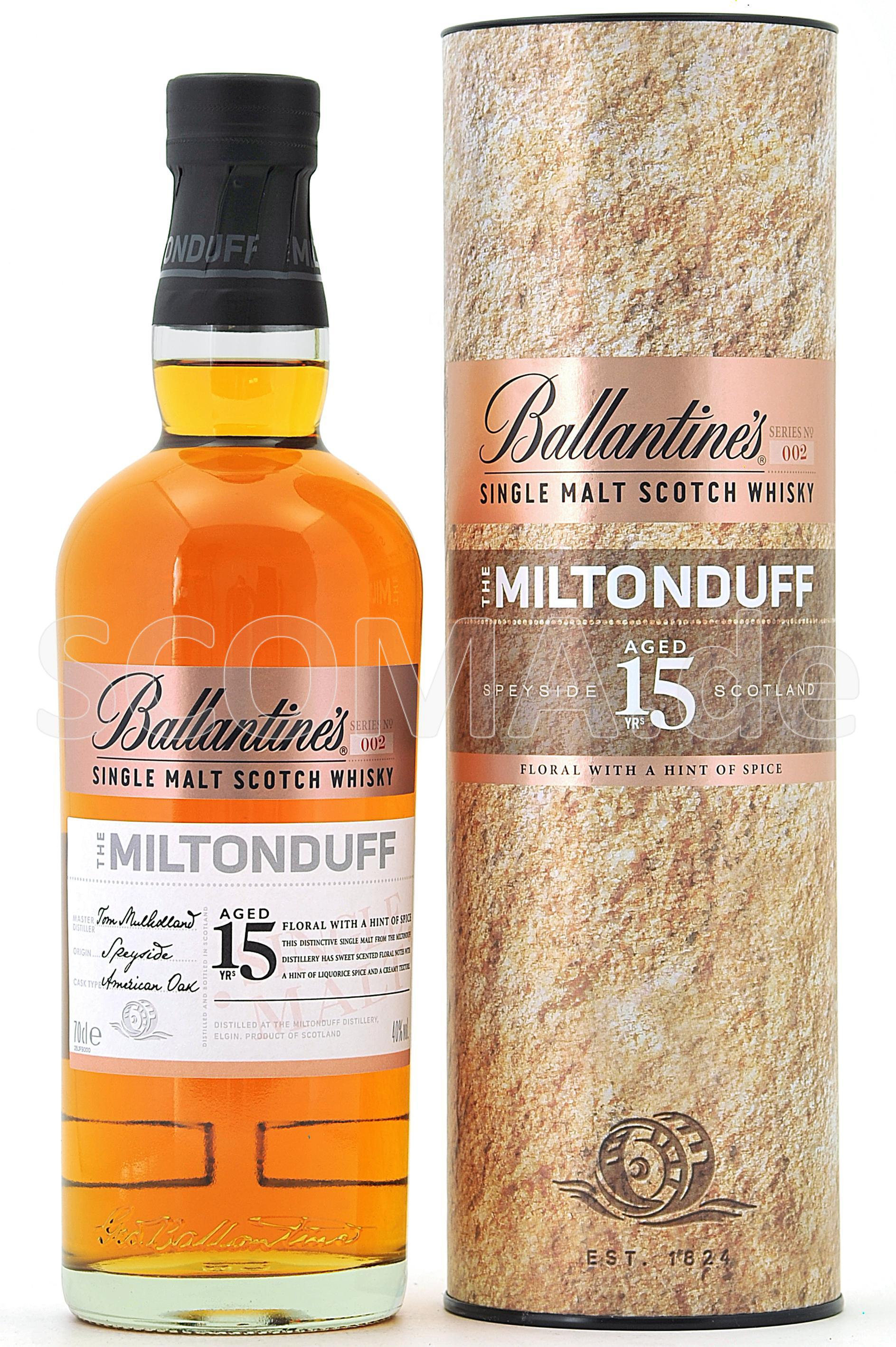 Miltonduff Ballantines 15 Jahr...