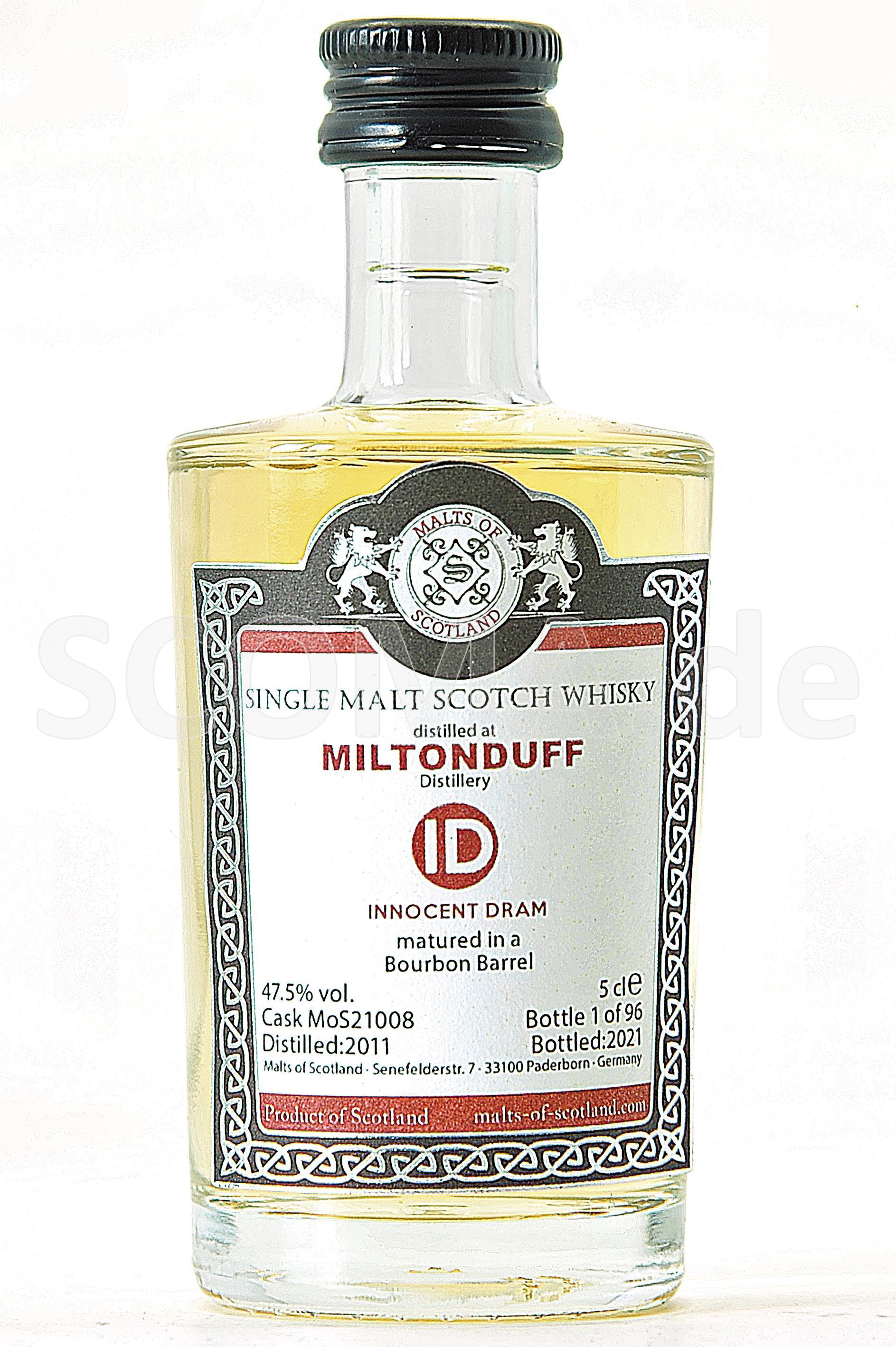 Miltonduff 2011/2021 Bourbon B...