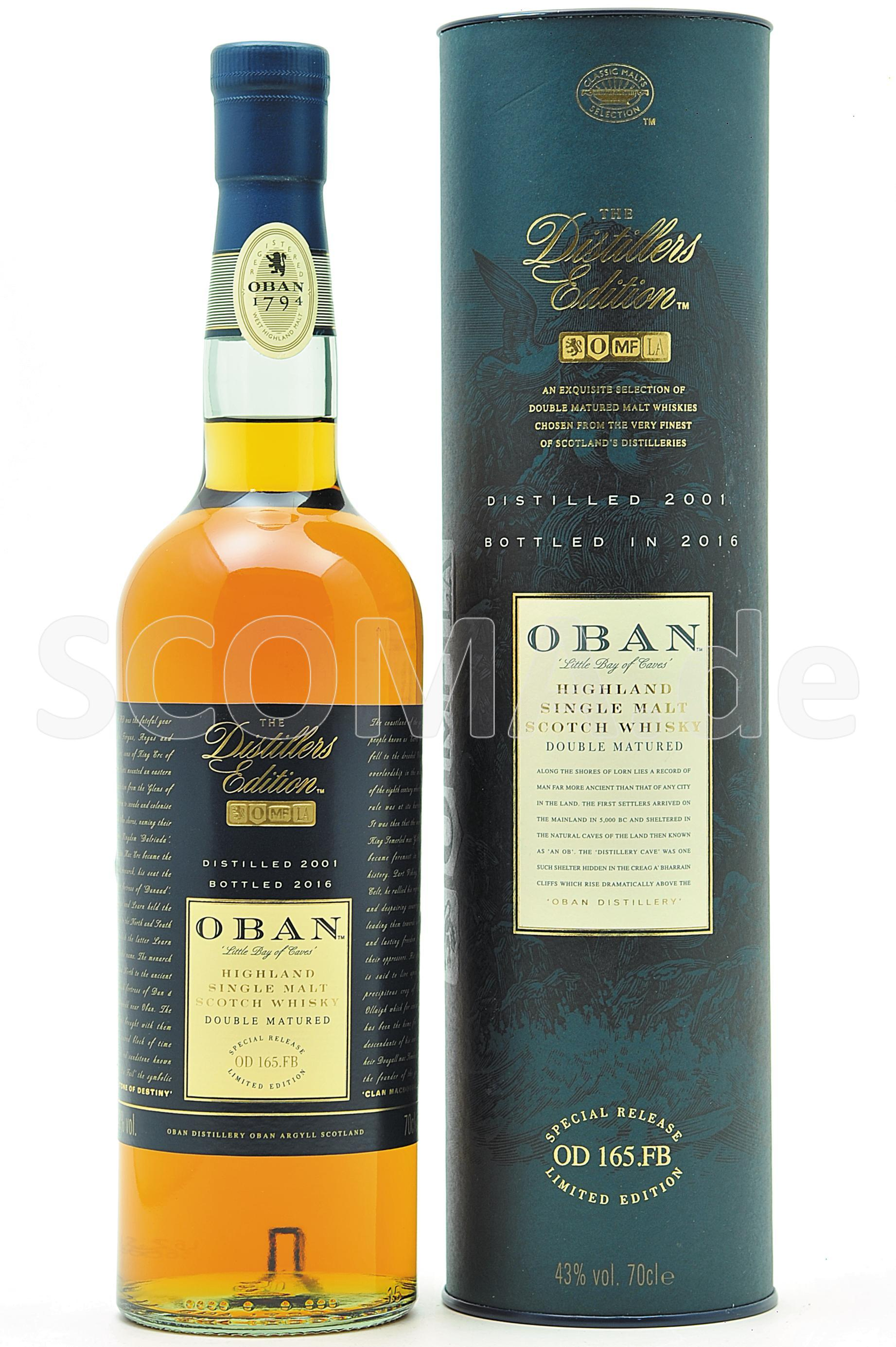 Oban 2001/2016 Distillers Edit...