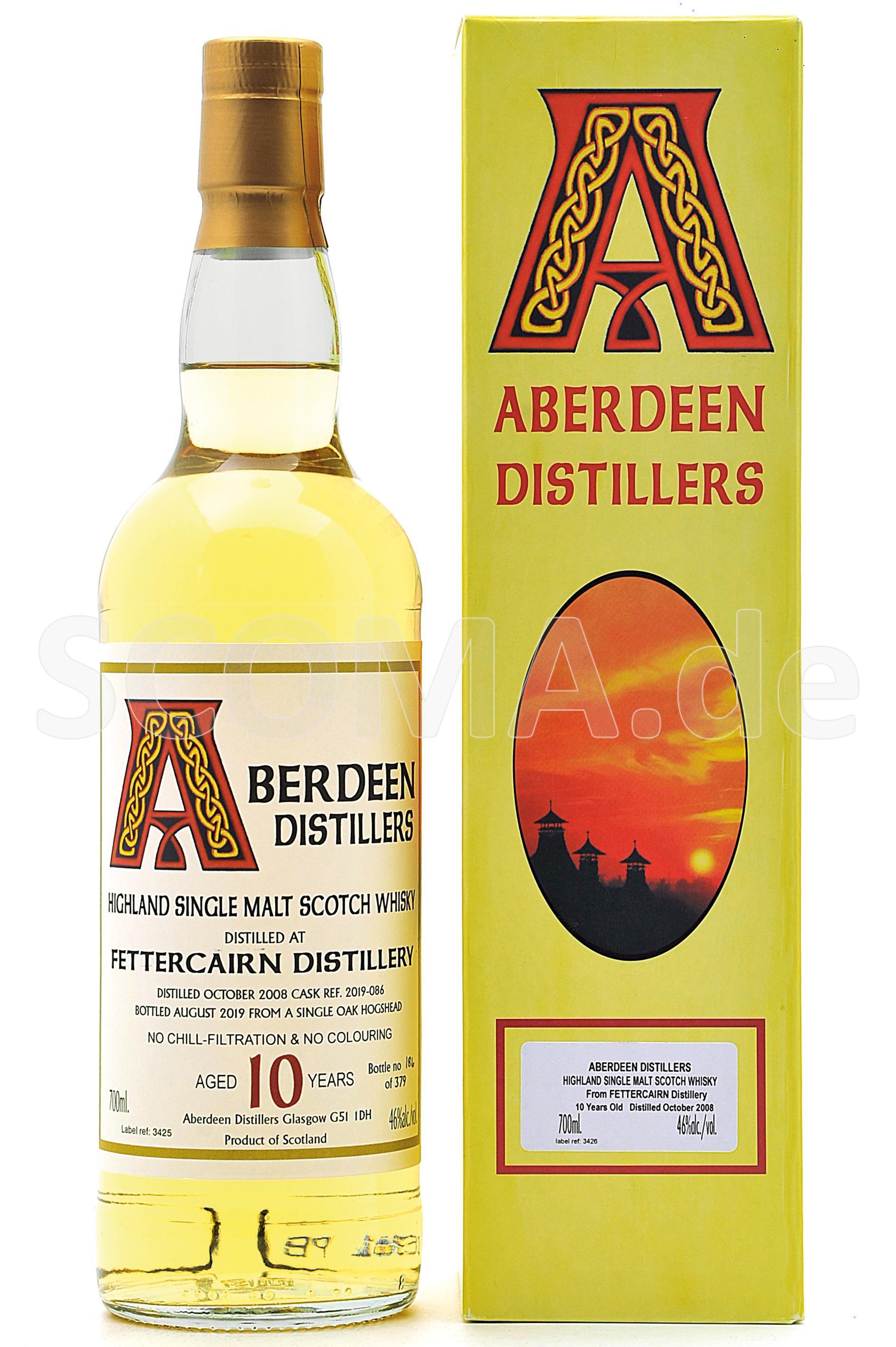 Fettercairn 10 Jahre Aberdeen ...