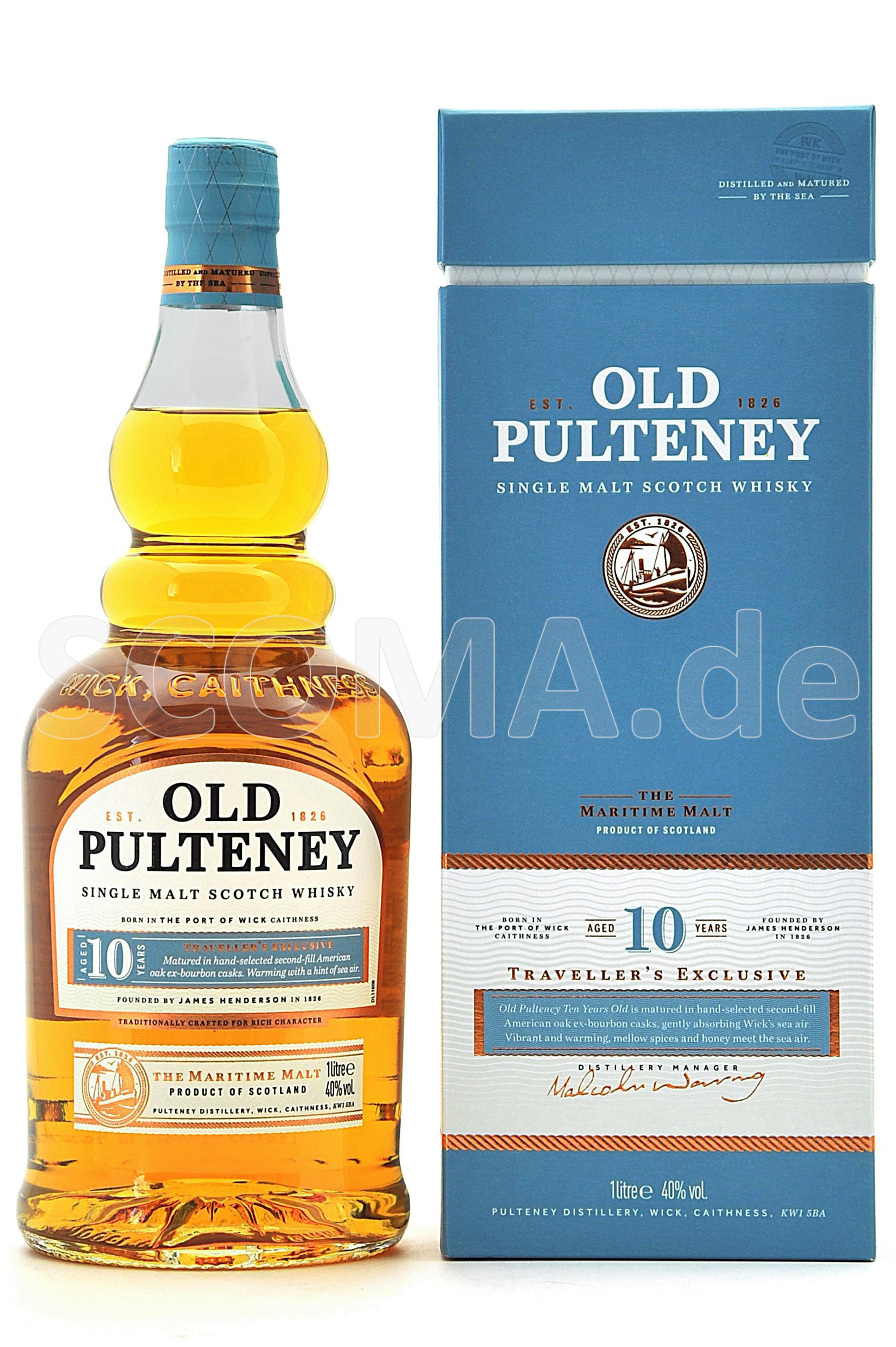 Old Pulteney 10 Jahre