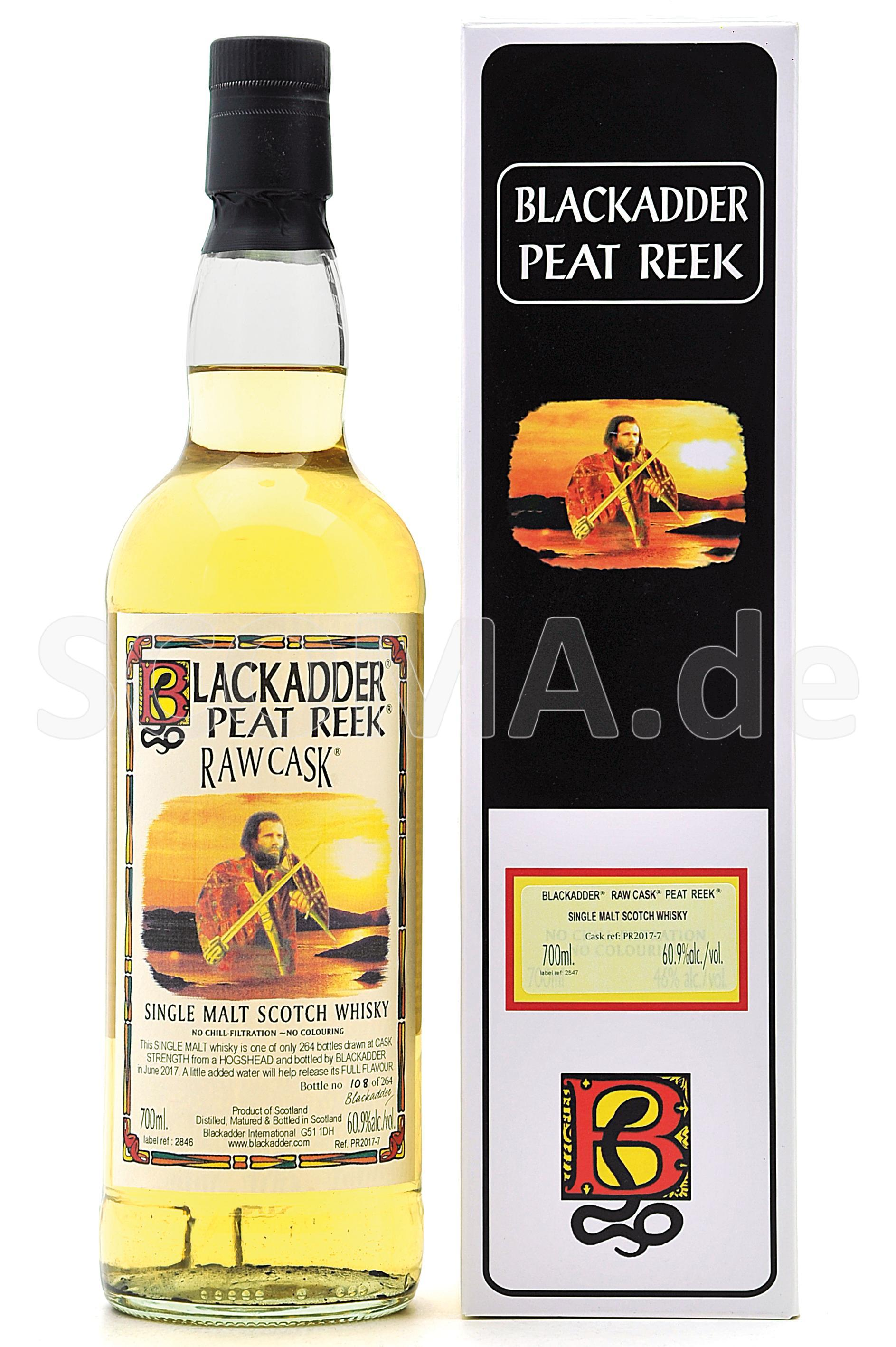 Peat Reek Raw Cask