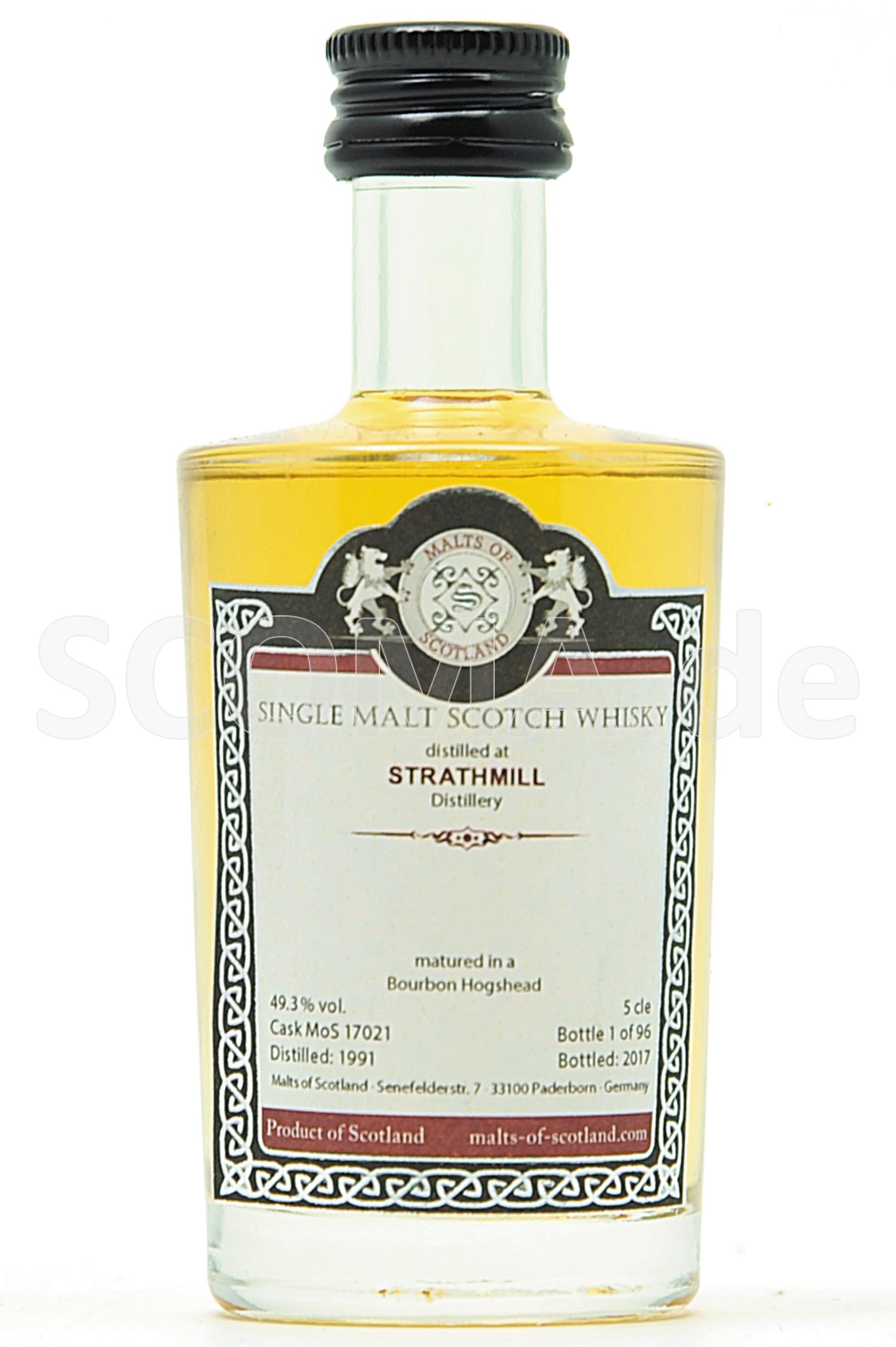 Strathmill 1991/2017 Bourbon H...