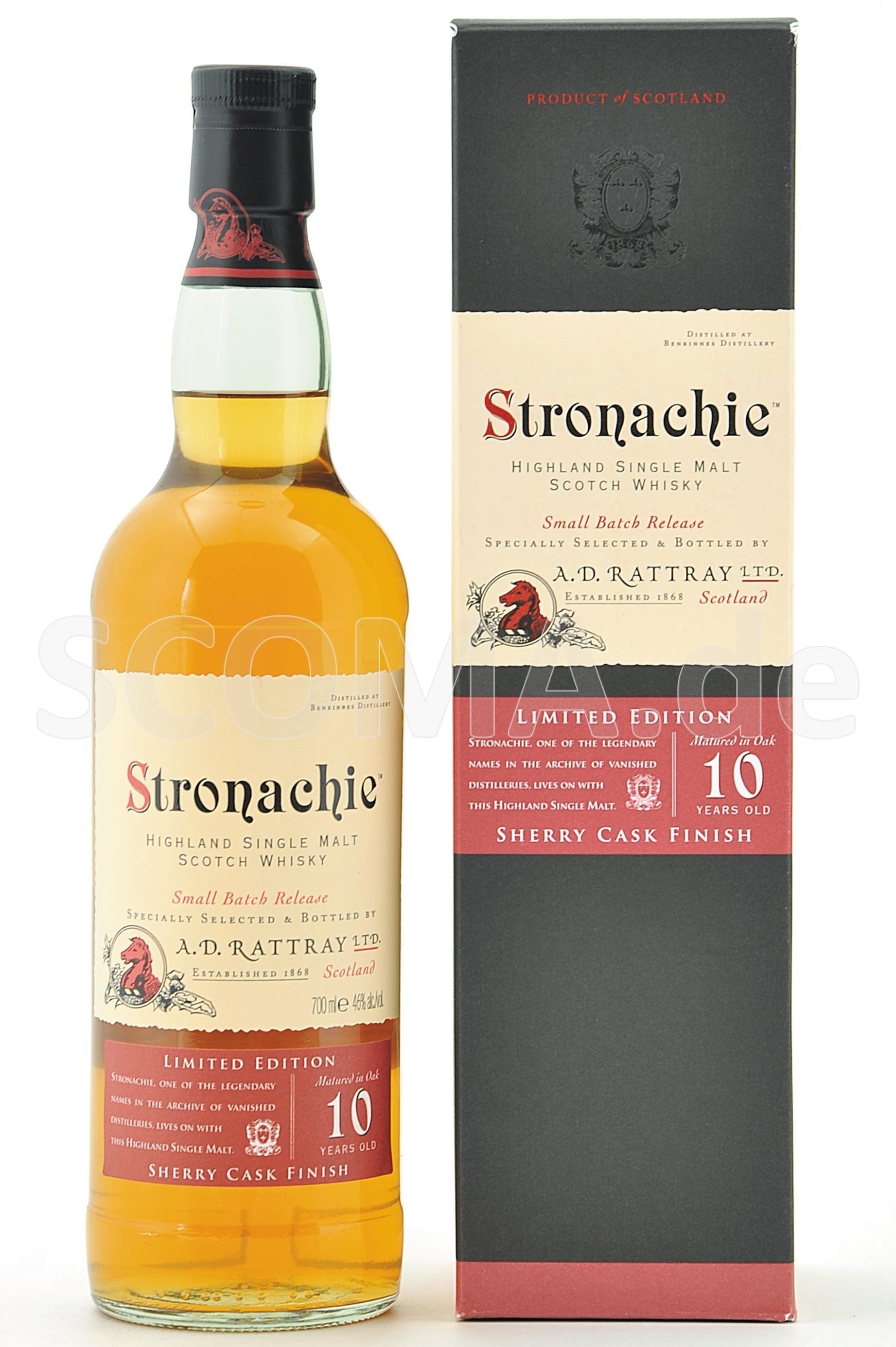 Stronachie 10 Jahre Sherry Cas...