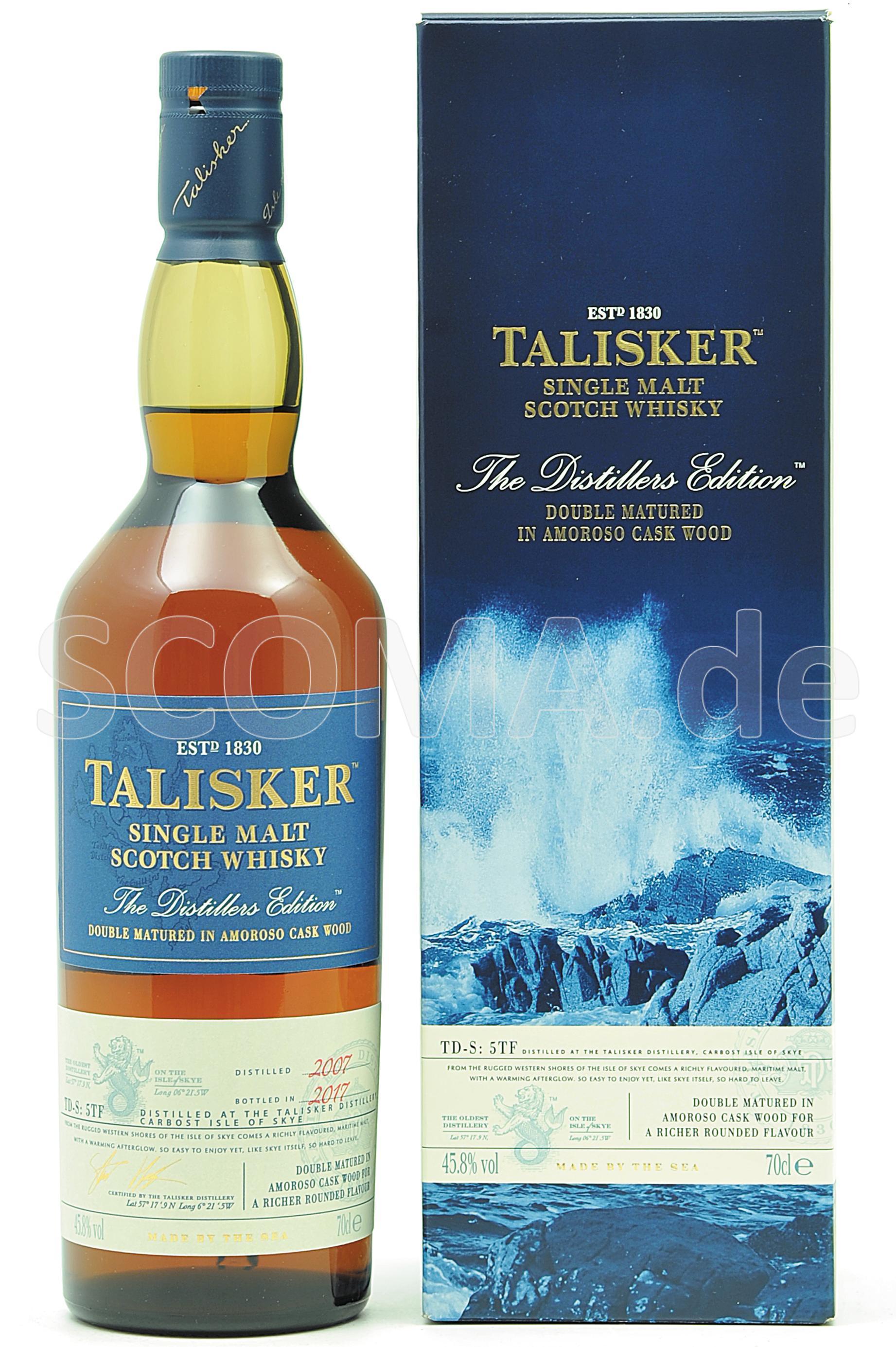 Talisker 2007/2017 Distillers ...