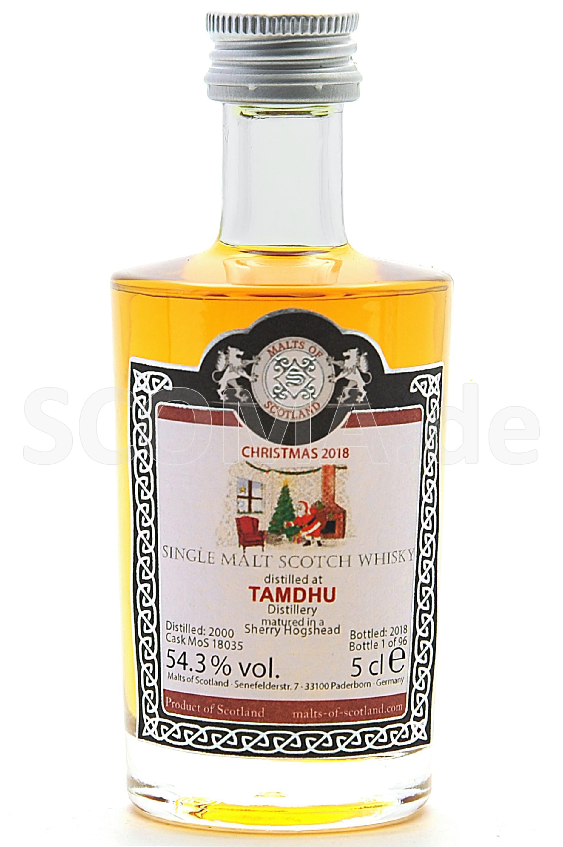 Tamdhu Christmas Malt 2000/201...