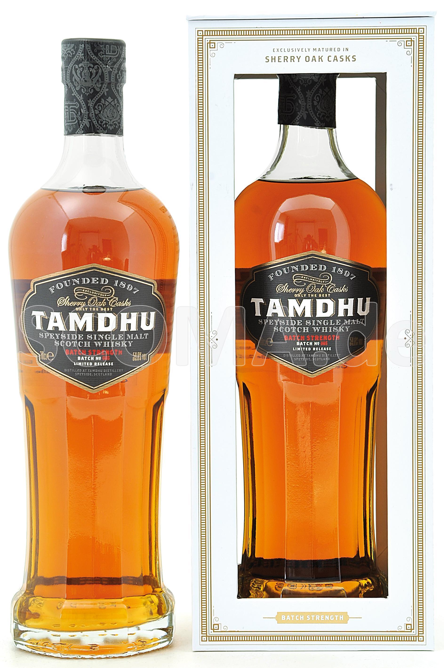 Tamdhu Cask strength
