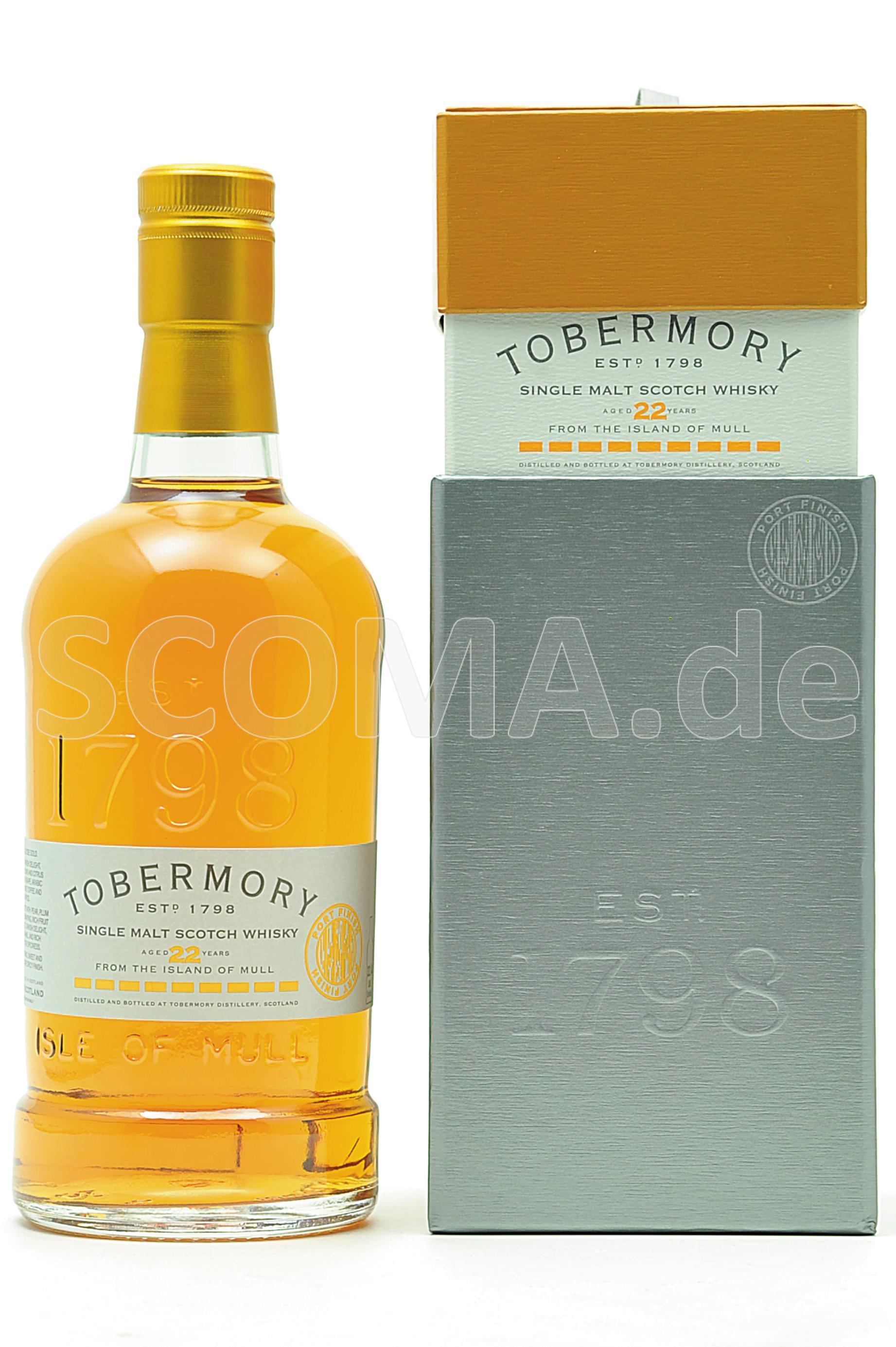Tobermory 22 years Port Cask F...