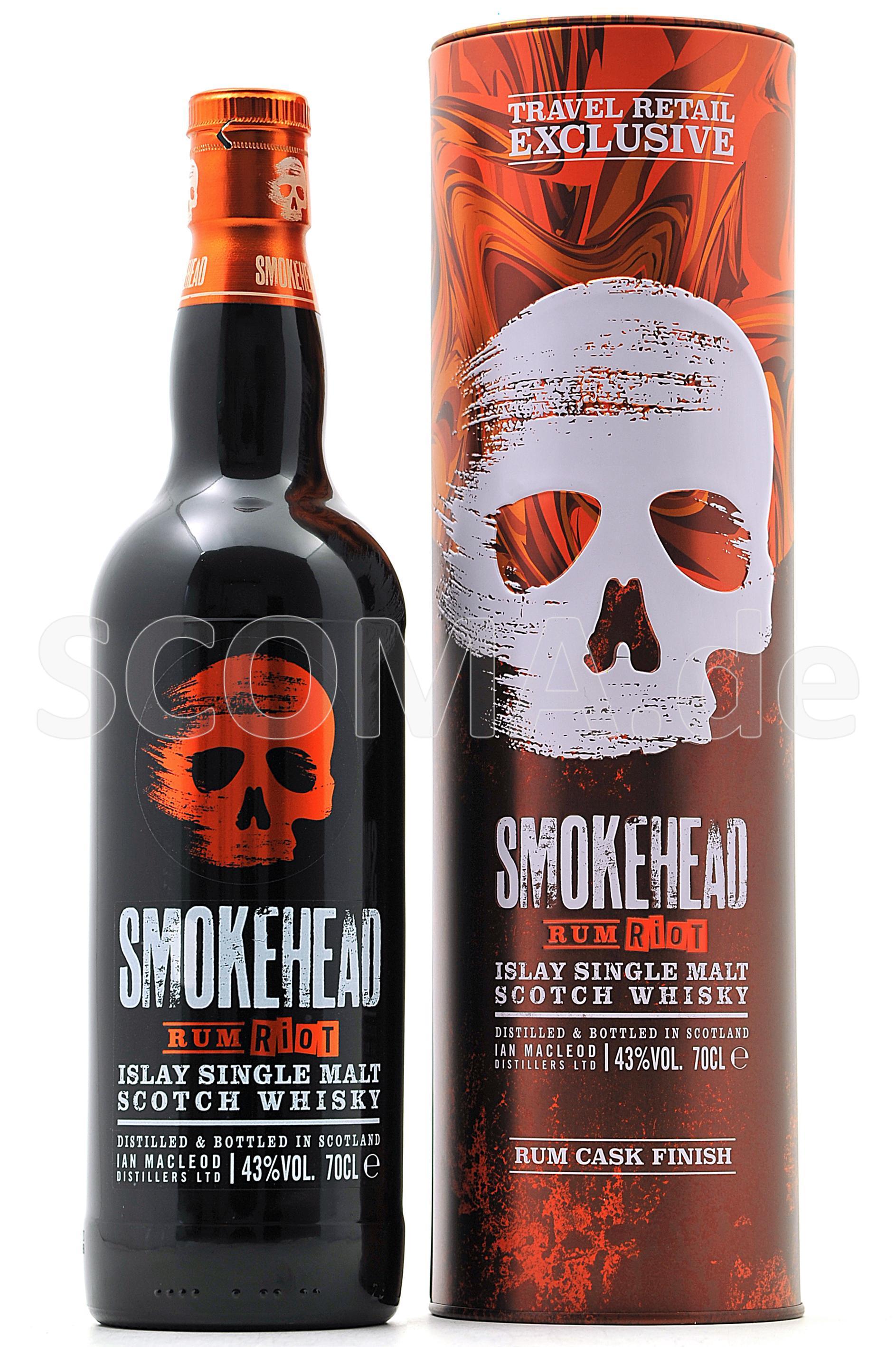 Smokehead Rum Riot Cask Finish