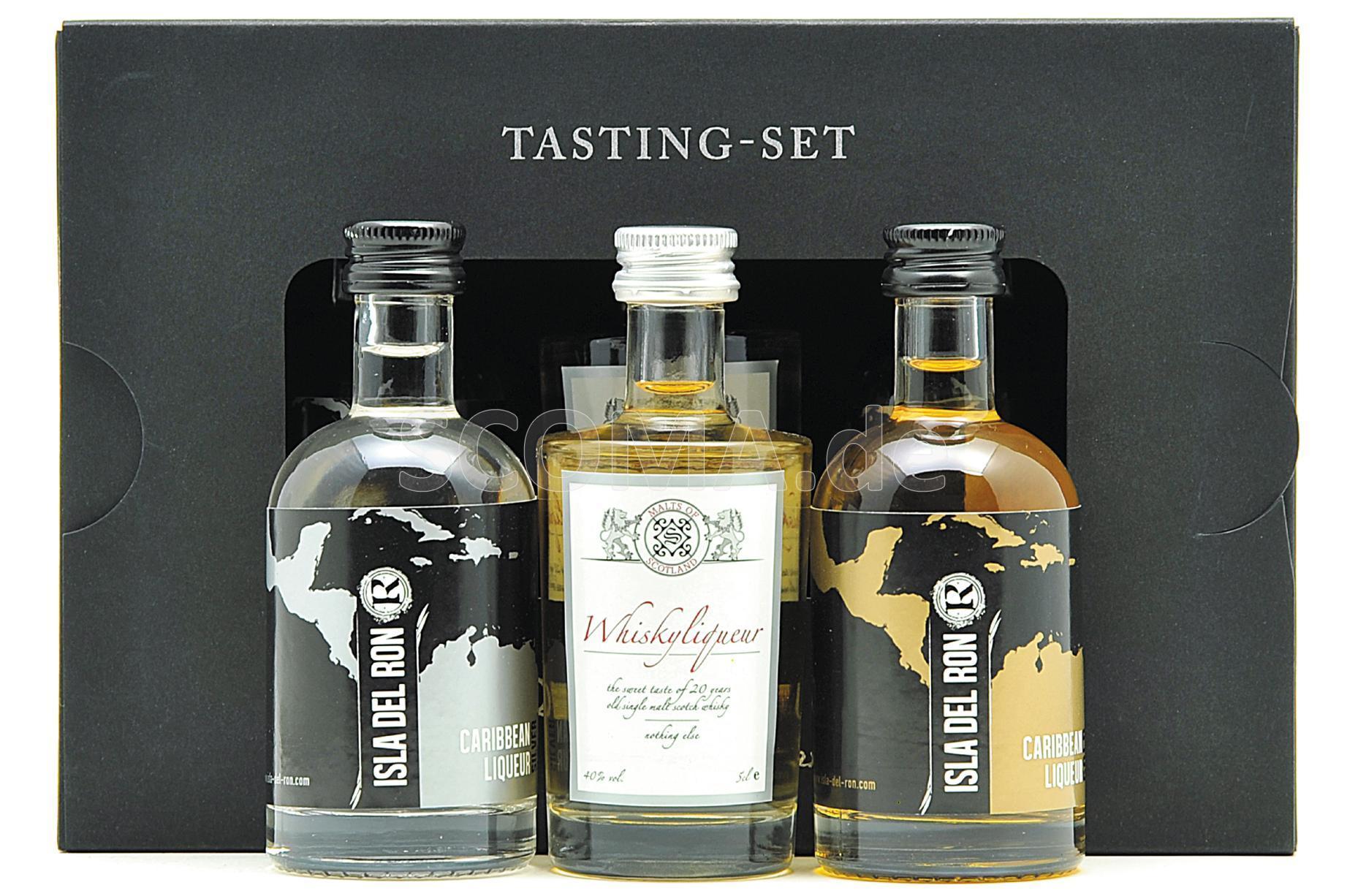MOS Tasting Set Whisky- & Ruml...