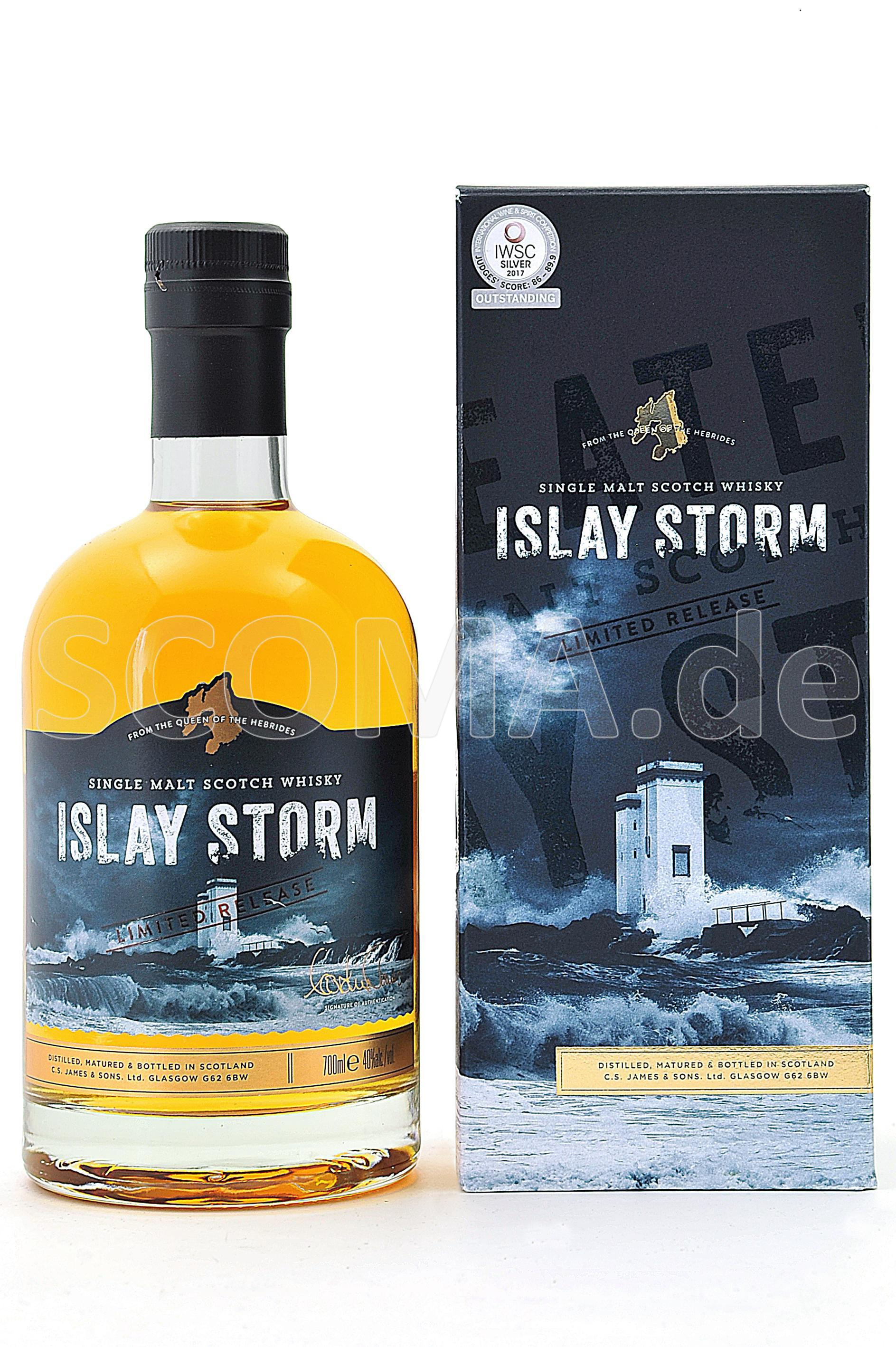 Islay Storm Single Malt Whisky