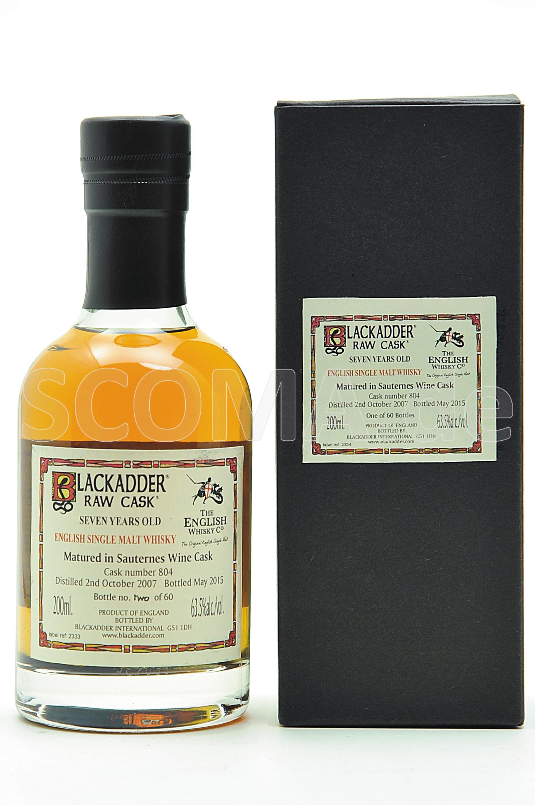 The English Single Malt Whisky...