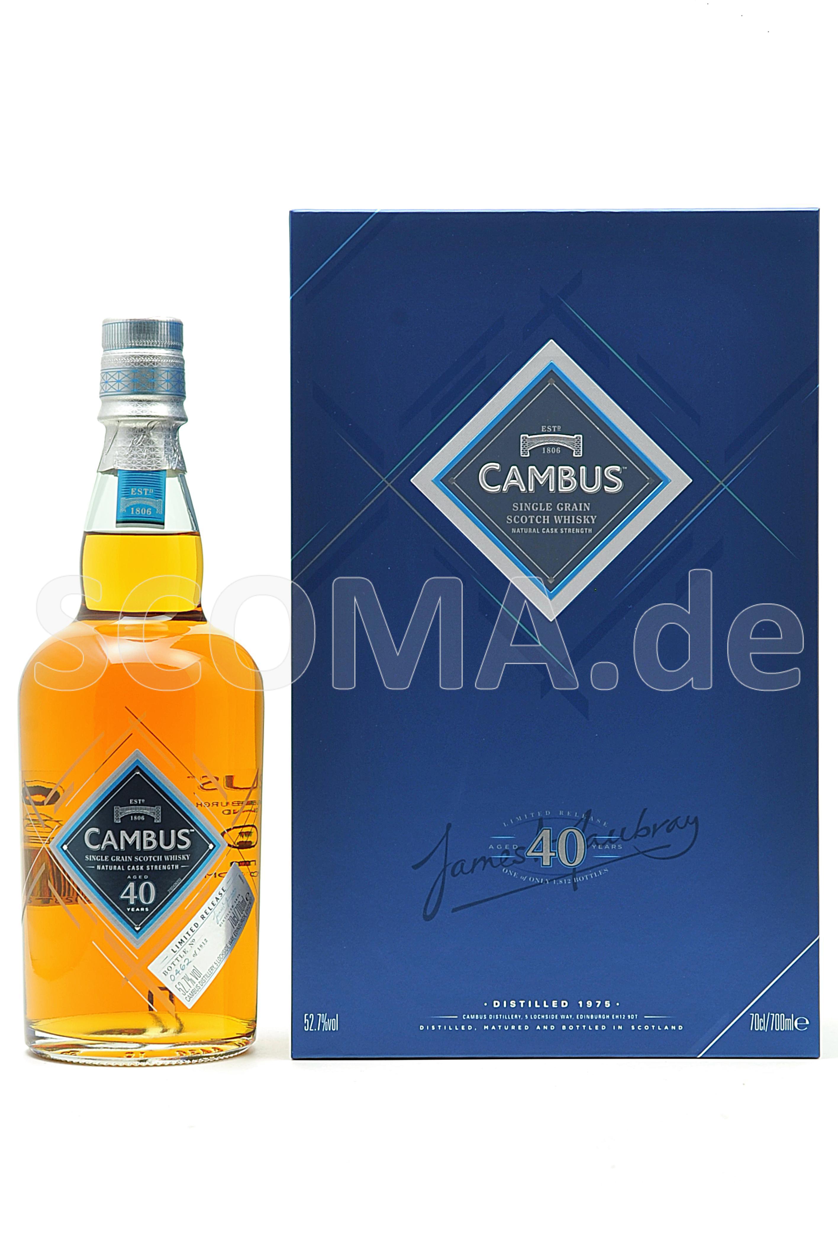 Cambus 40 Jahre Single Grain W...