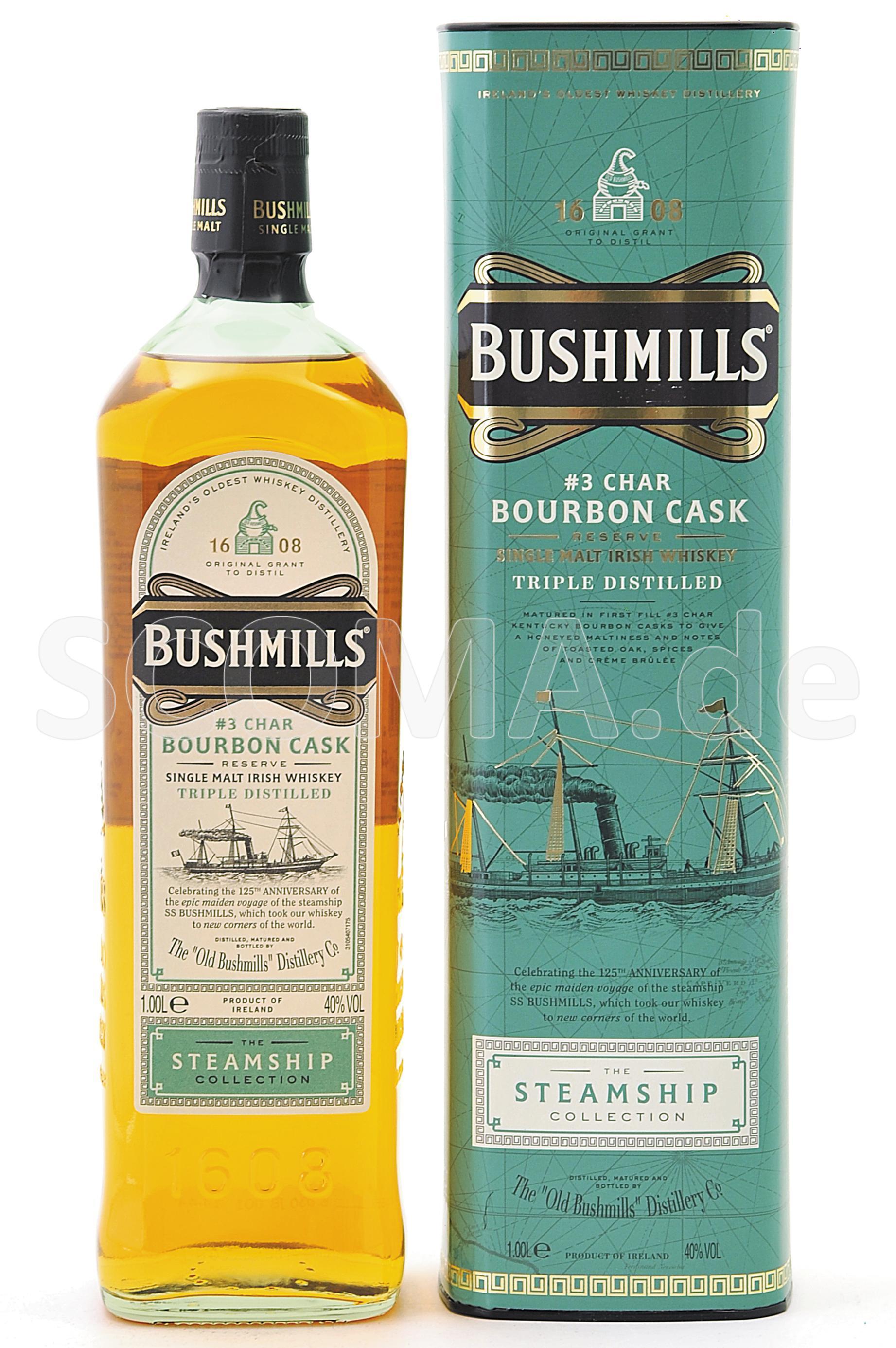 Bushmills #3 Char Bourbon Cask