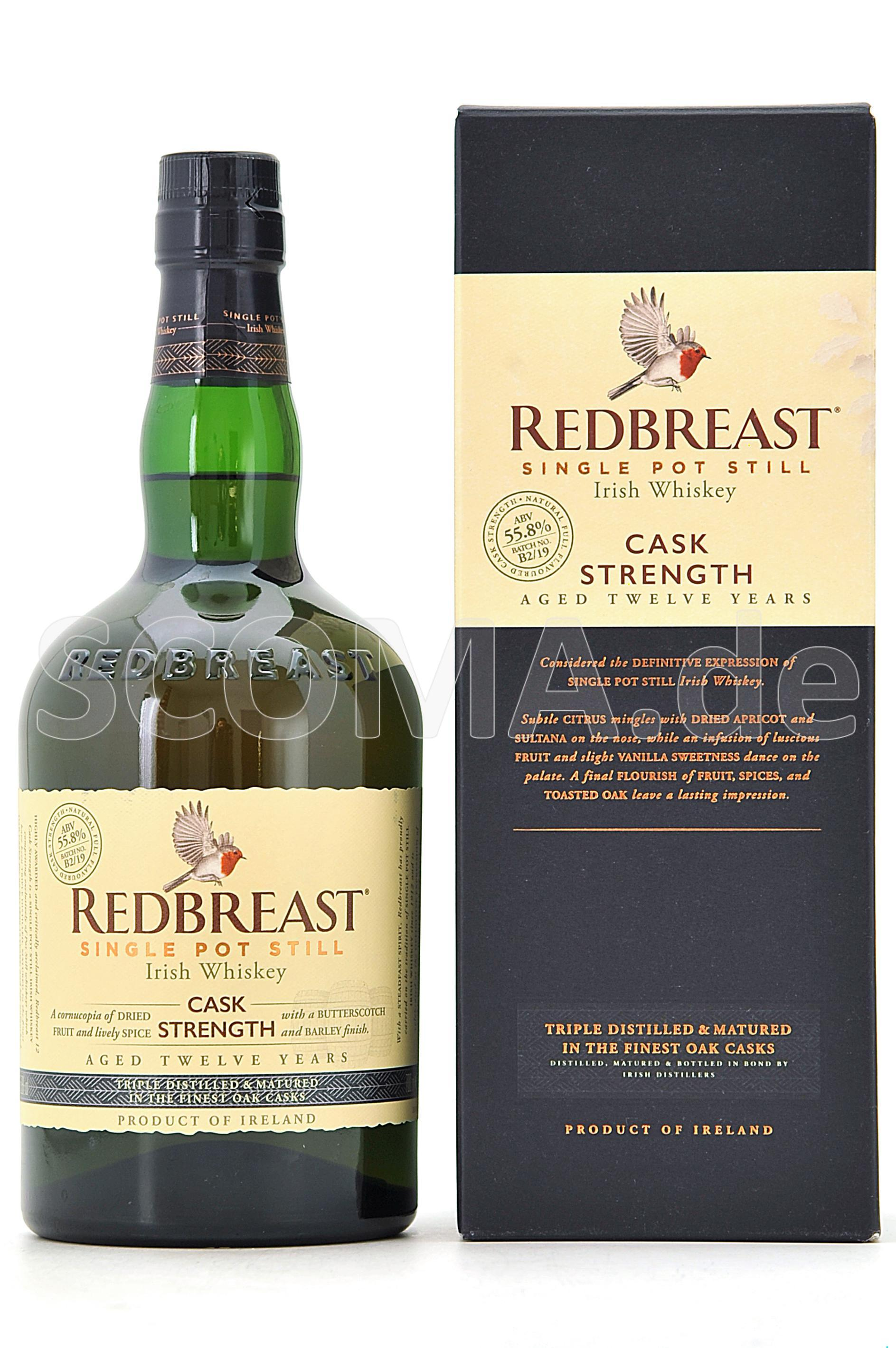 Redbreast 12 years Cask streng...