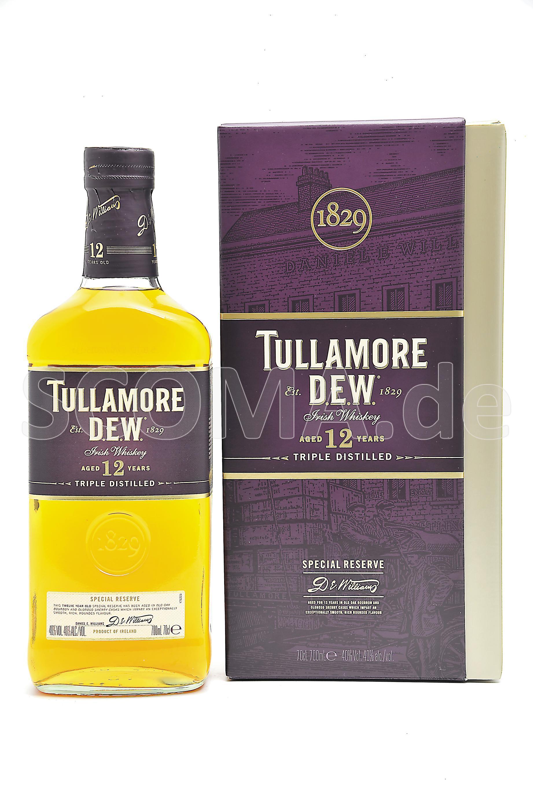 Tullamore Dew 12 Jahre Special...
