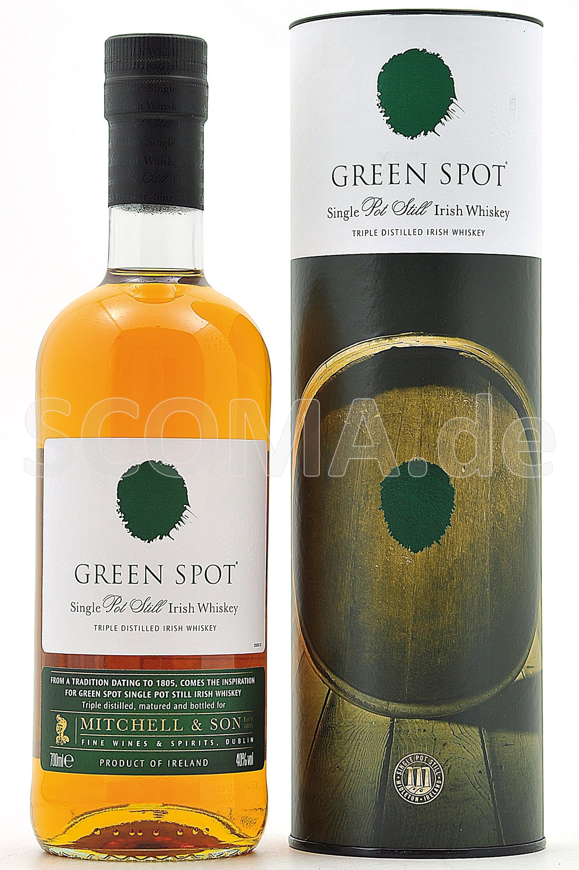 Green Spot Irish Pot Still Whi...