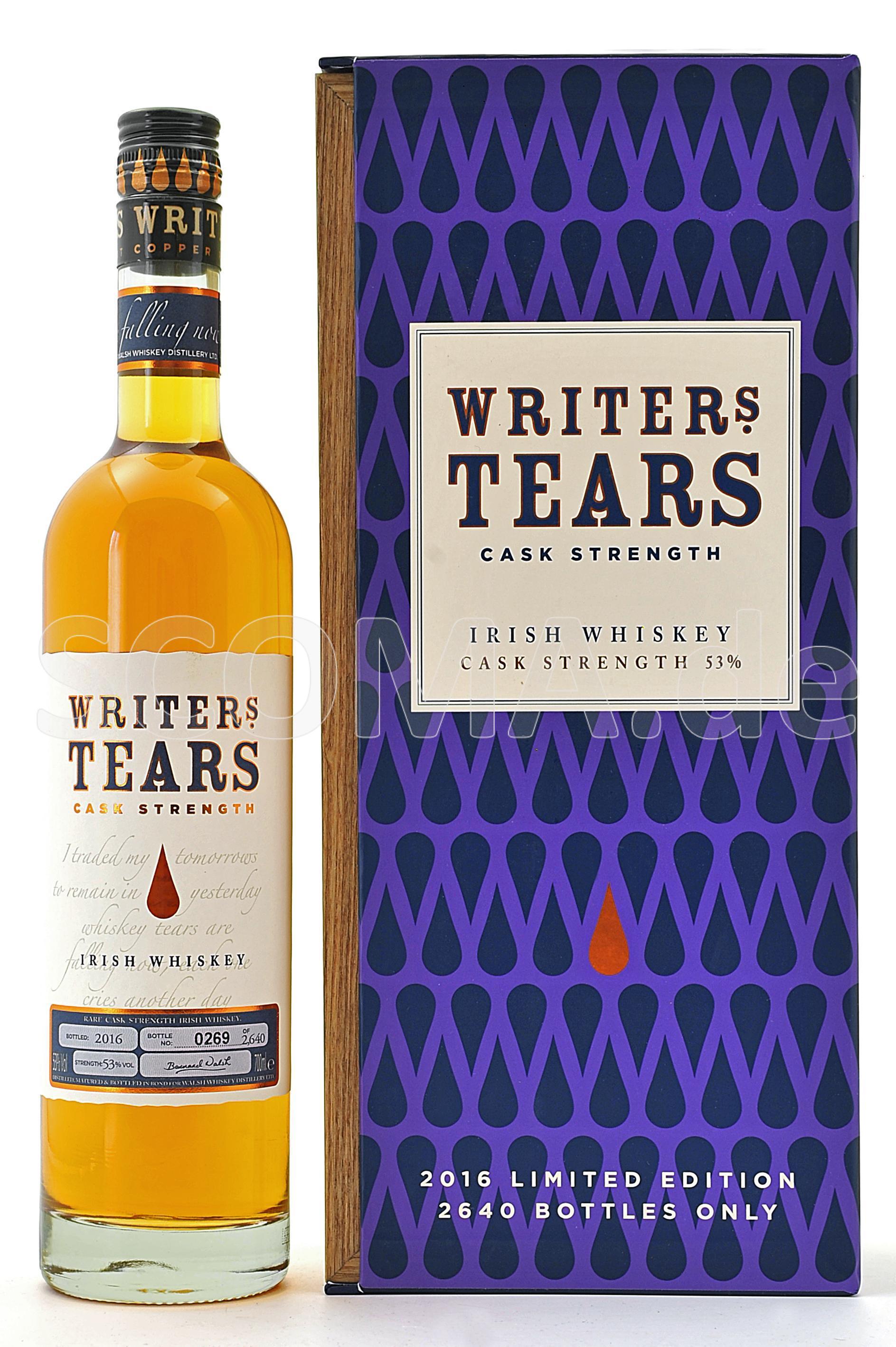 Writer's Tears Cask Strength E...