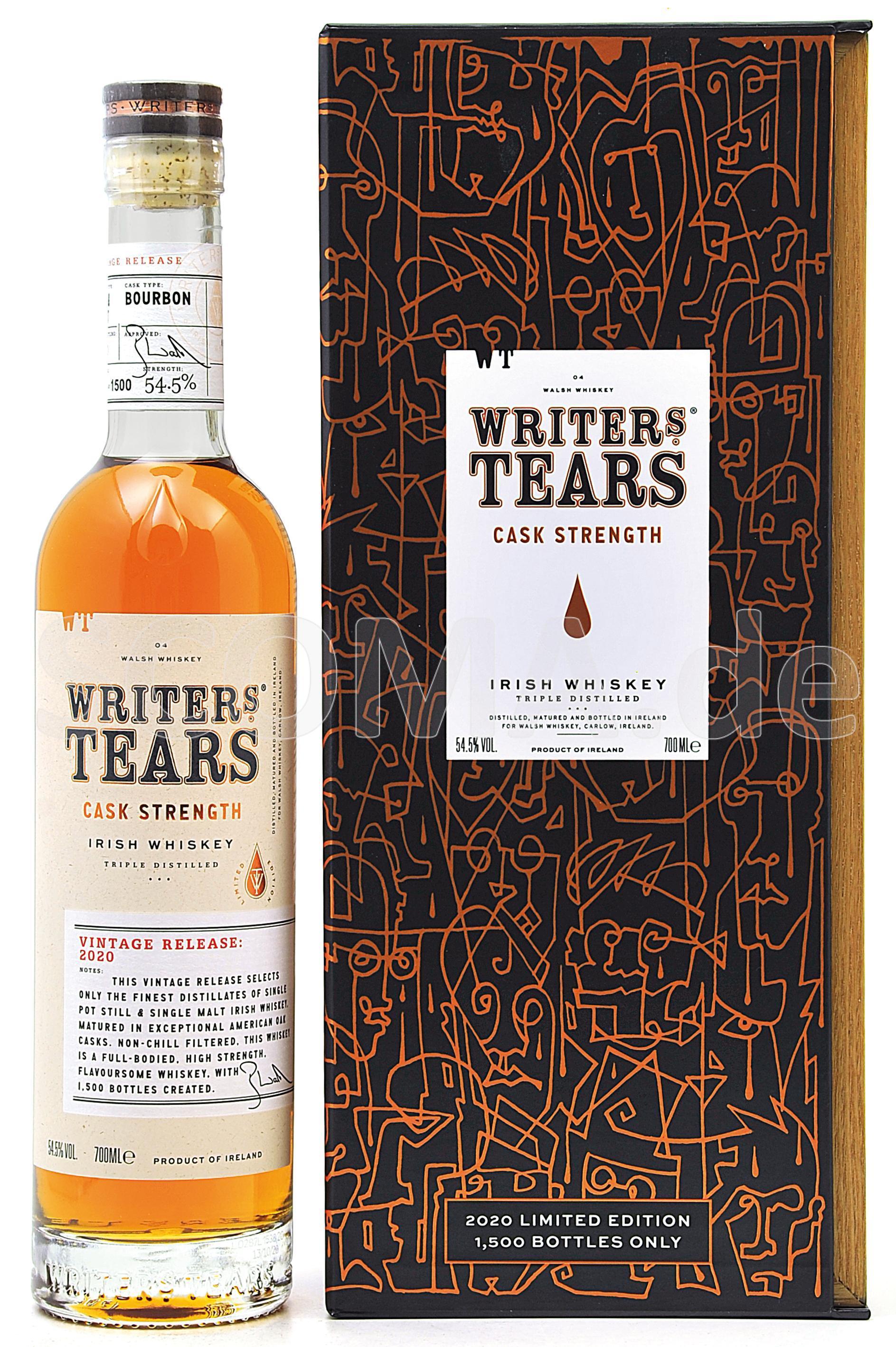 Writer's Tears Cask Strength 2...