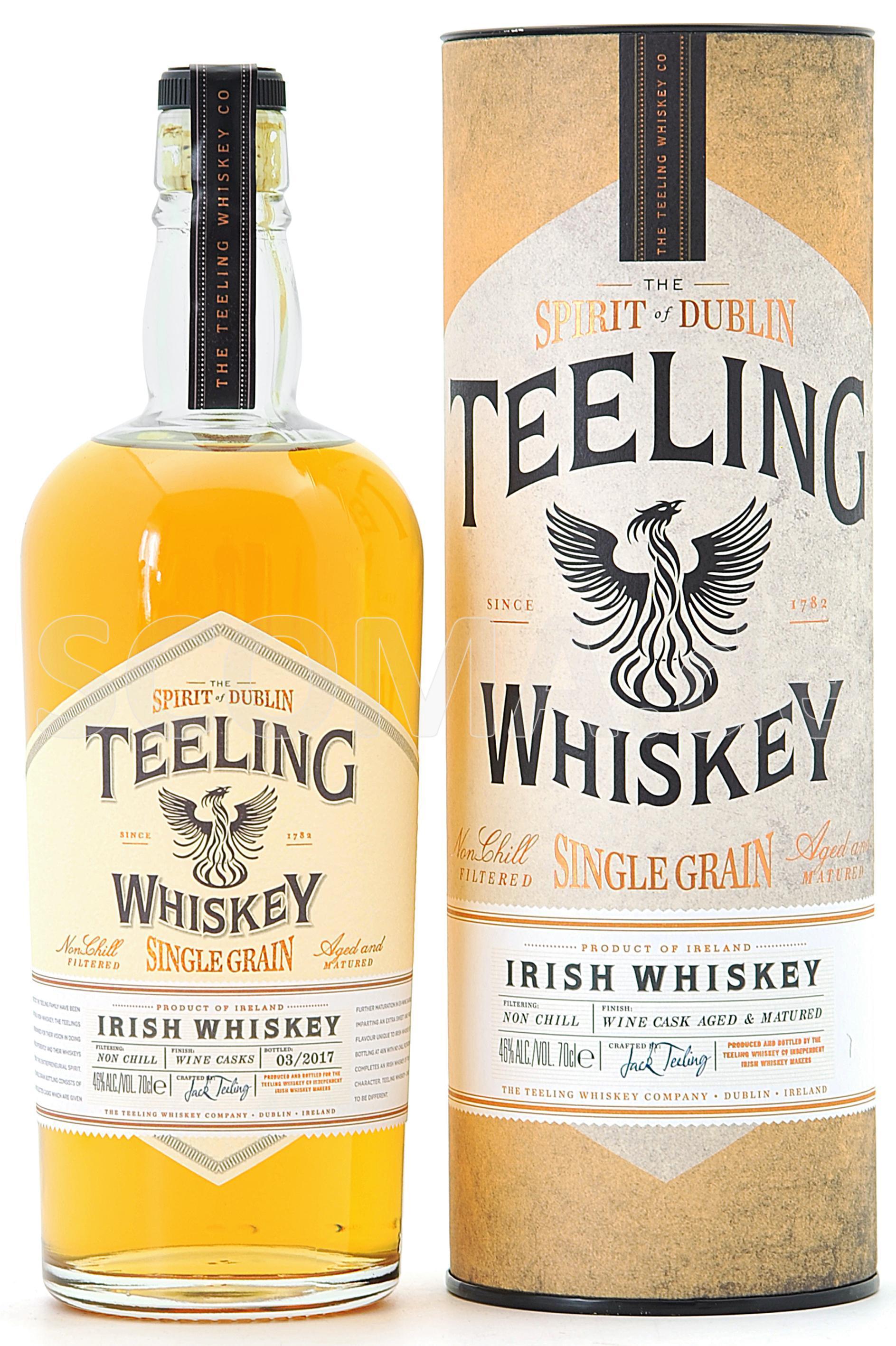 Teeling Irish Single Grain Whi...