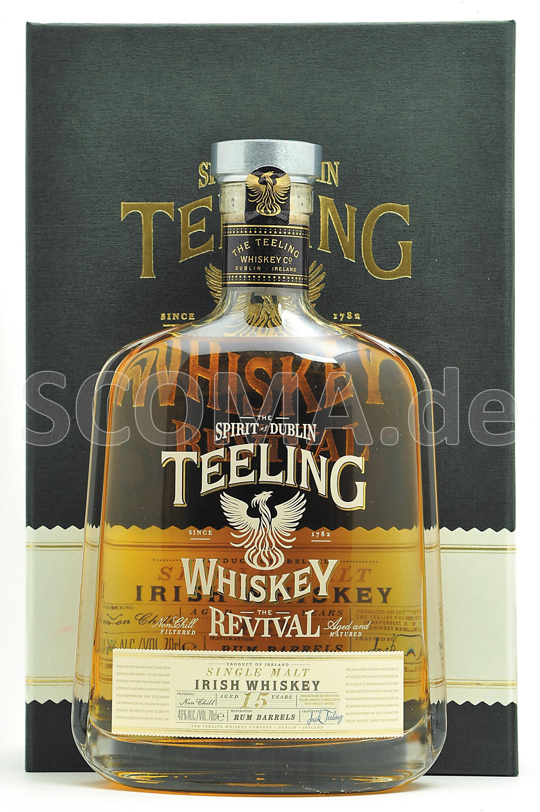 Teeling The Revival 15 Jahre